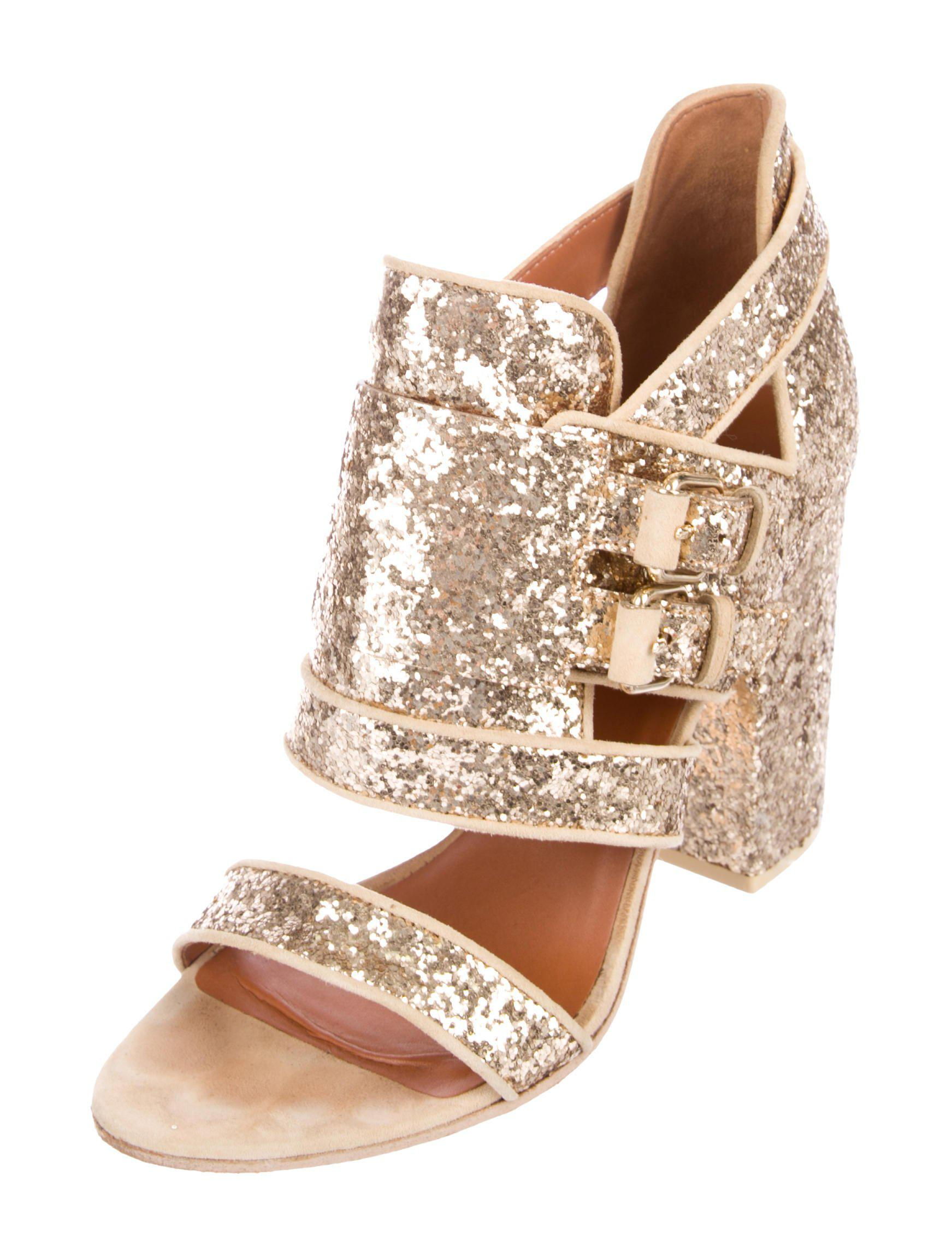 Givenchy Glitter Cage Sandals big sale cheap price zRd8Klx