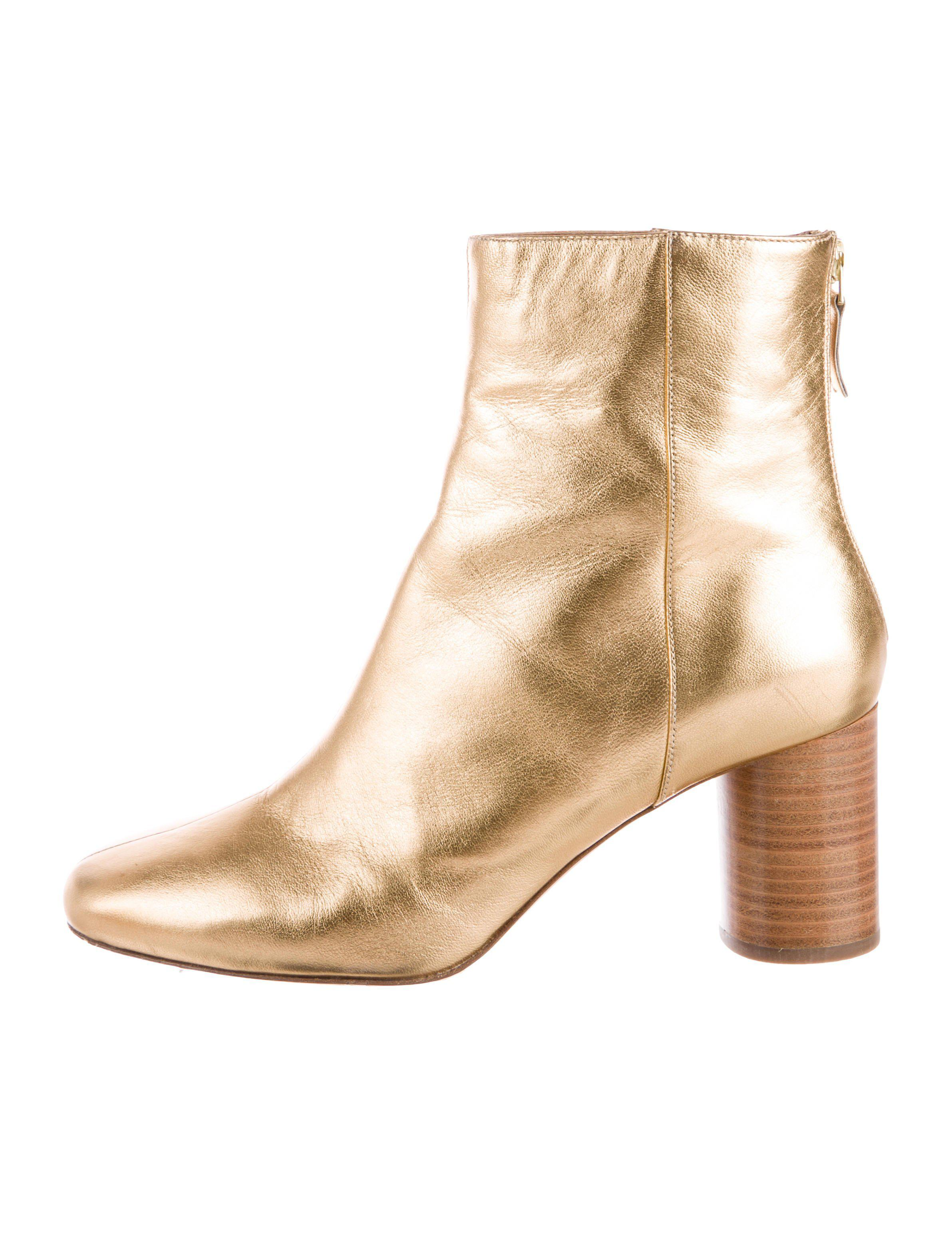Sandro Metallic Ankle Boots release dates cheap online popular factory outlet online cheap sale lowest price shopping online cheap online czvnMo