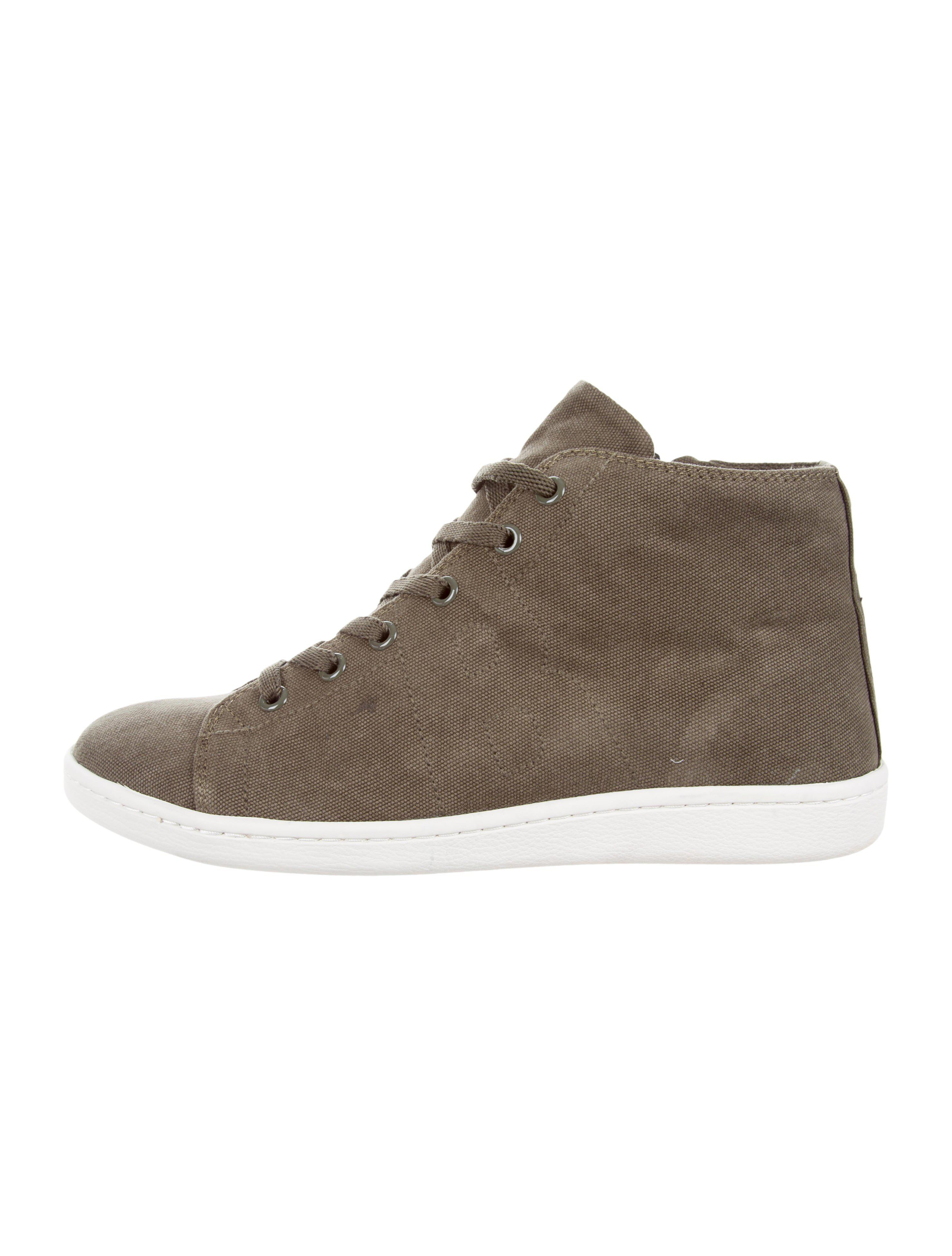 Anine Bing Suede High-Top Sneakers w/ Tags quality free shipping for sale KncN0Q