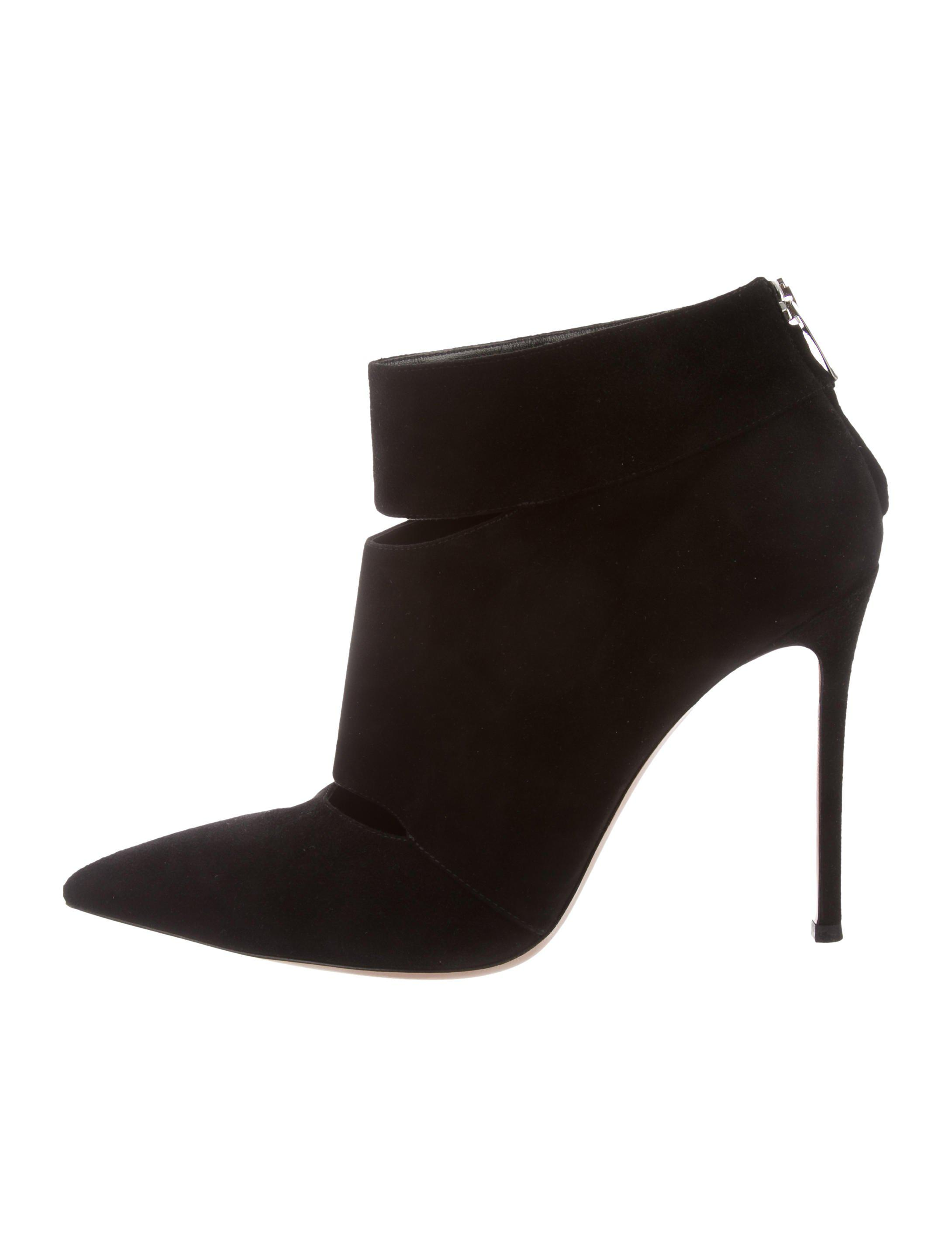Gianvito Rossi Pointed Toe Leather Ankle Boots znpgWwgVDx