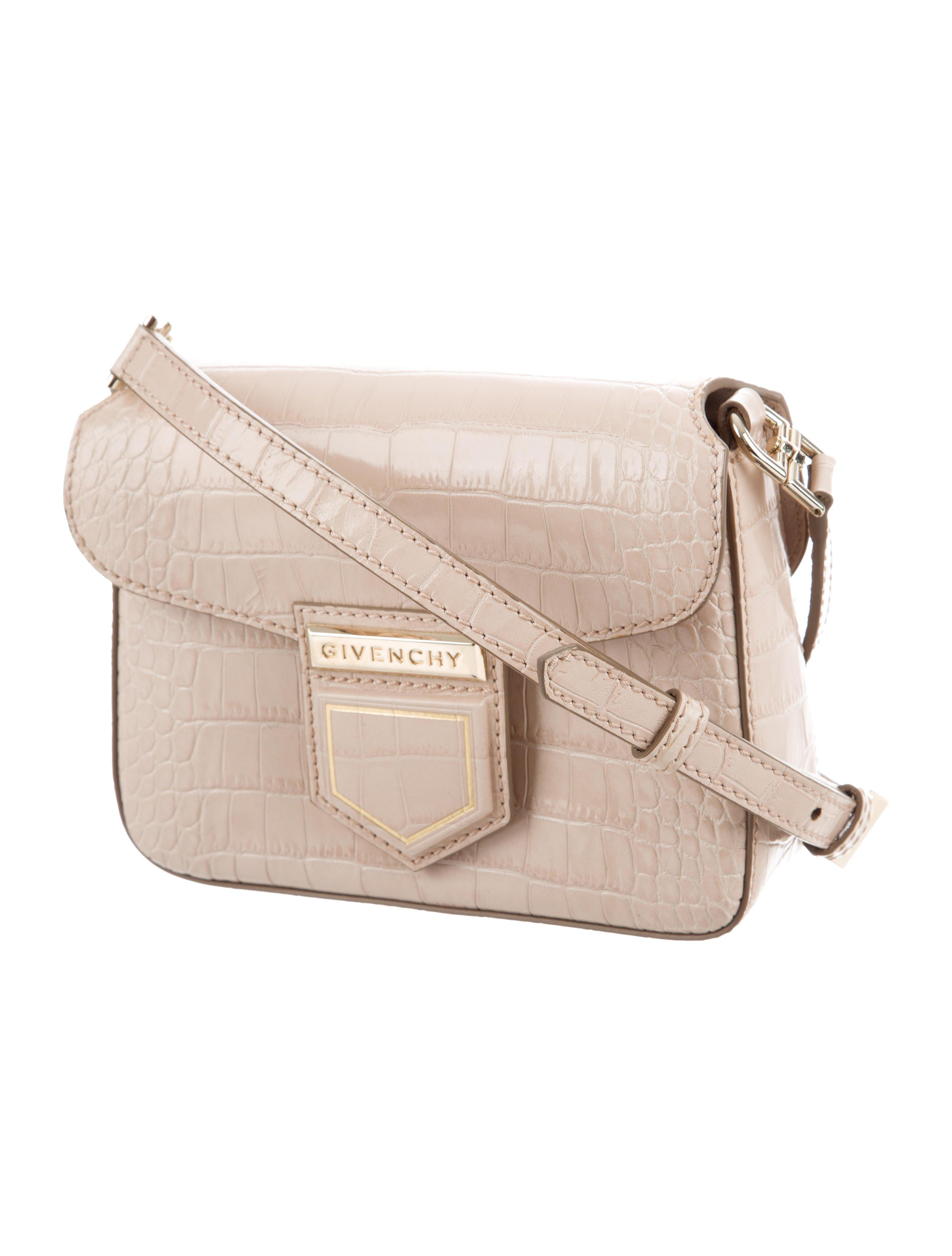 a7a1e965f5 Lyst - Givenchy Small Nobile Crossbody Bag Beige in Metallic