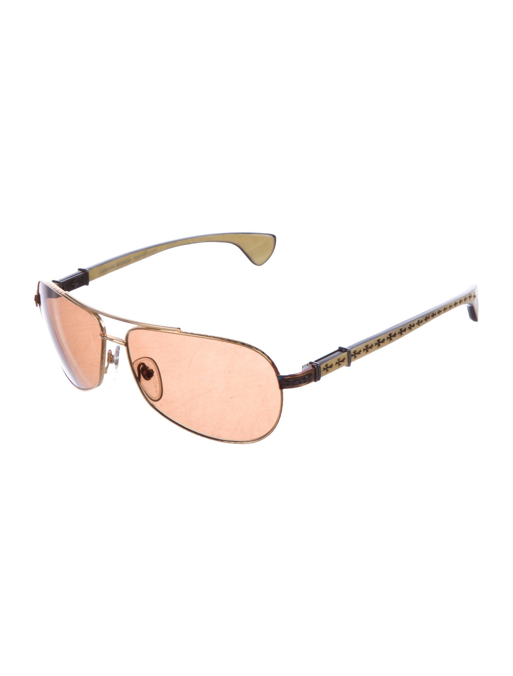 52f00af33db Lyst chrome hearts the beast aviator sunglasses gold in metallic jpg  2105x2776 Beast sunglasses chrome hearts
