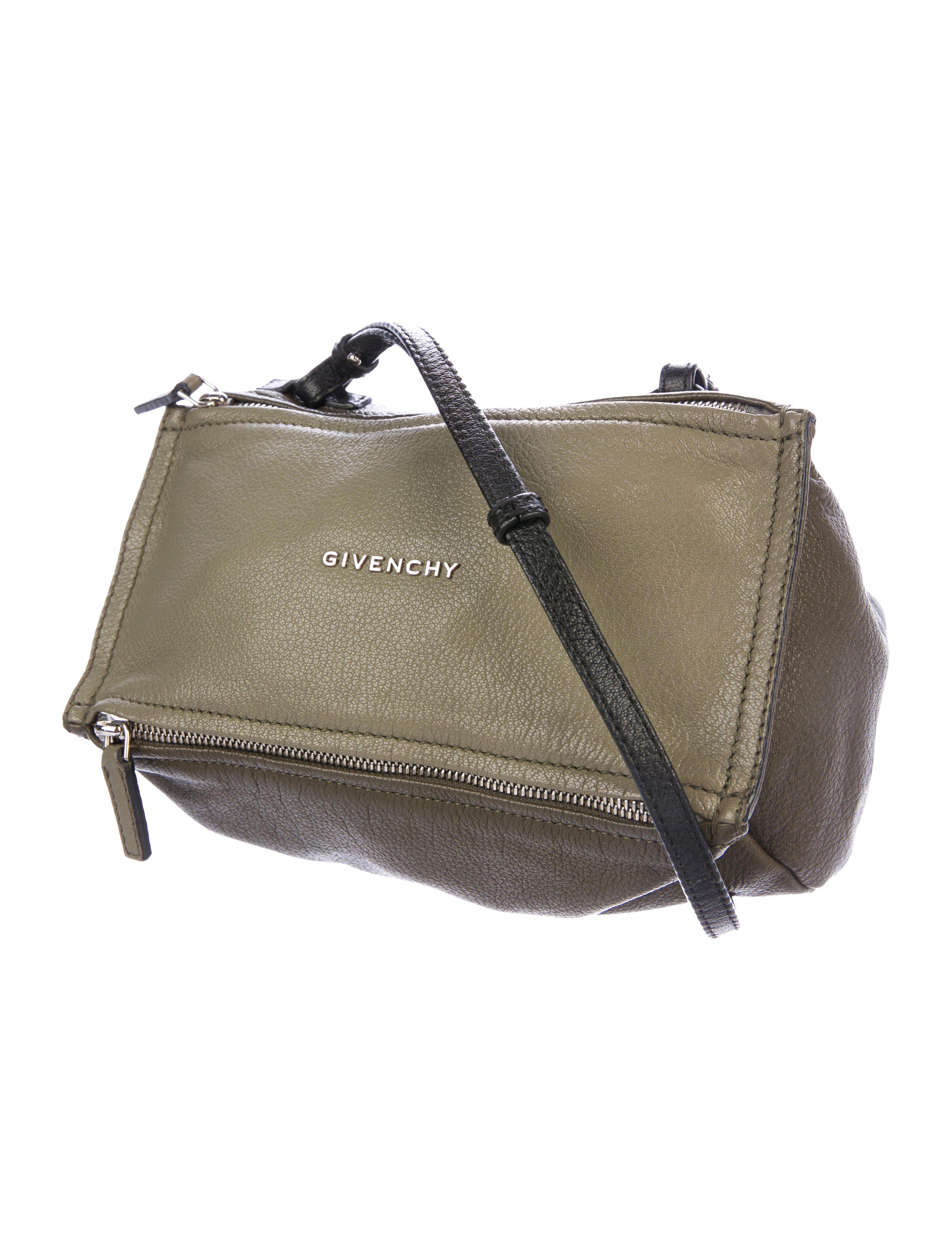 8b00f95976 Lyst - Givenchy Mini Pandora Crossbody Bag Olive in Metallic