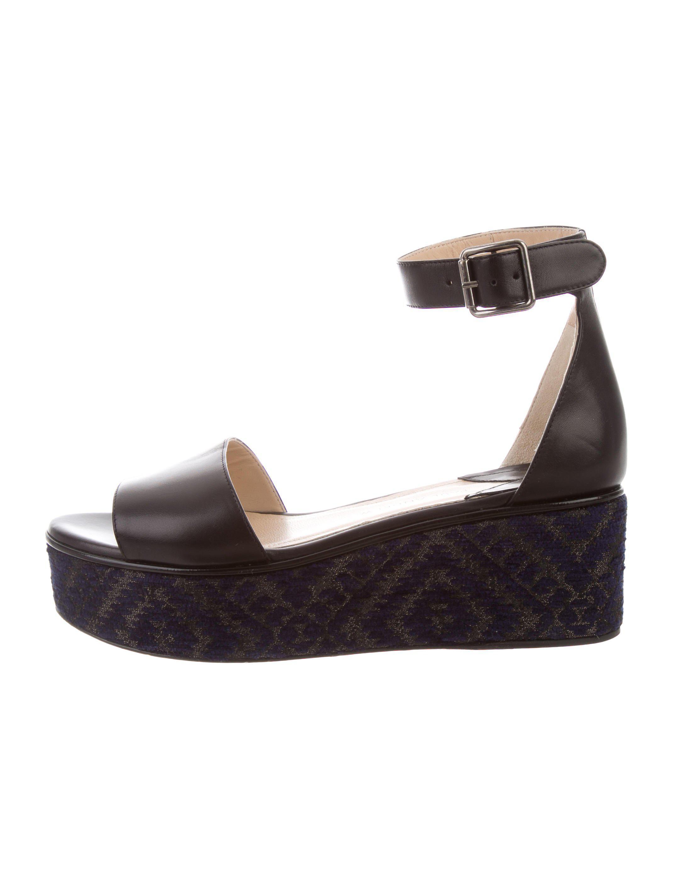 Paul Andrew Flatform Ankle Strap Sandals outlet Cheapest hCNtCqFjU