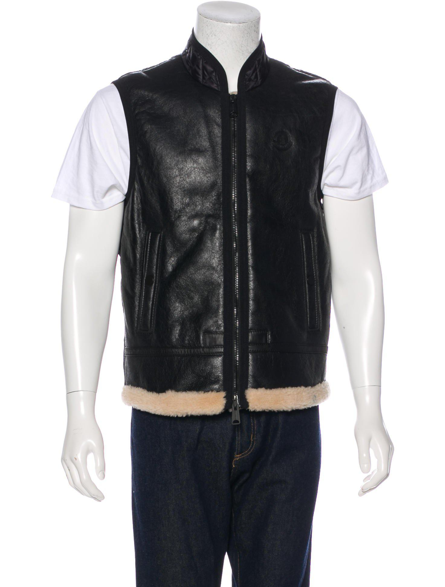 Moncler. Men's Black Brice Down Gilet ...