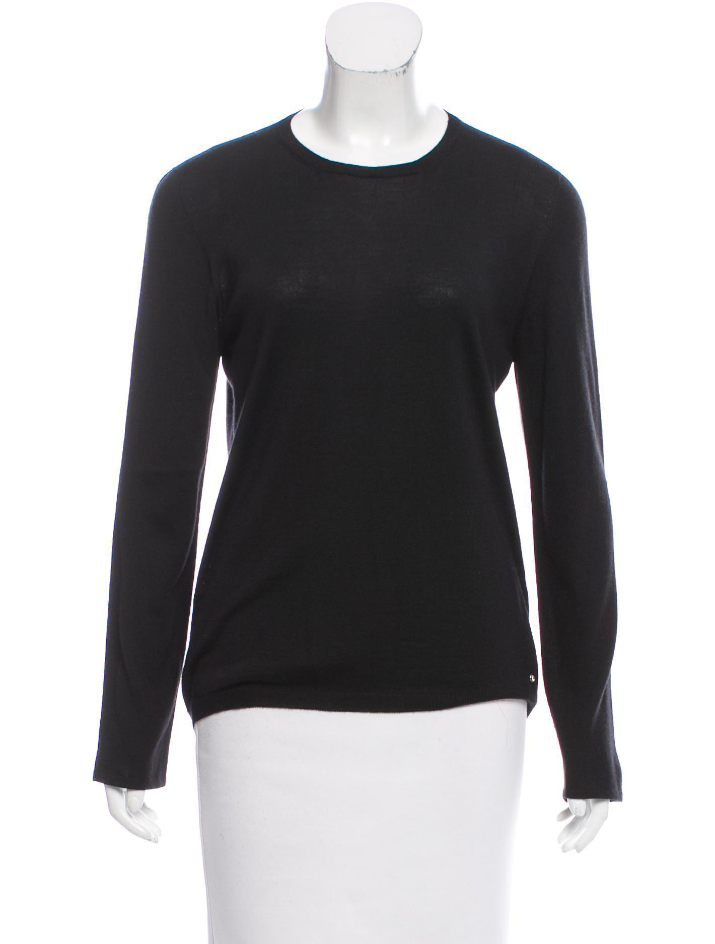 Dior Lightweight Cashmere Sweater in Blue | Lyst