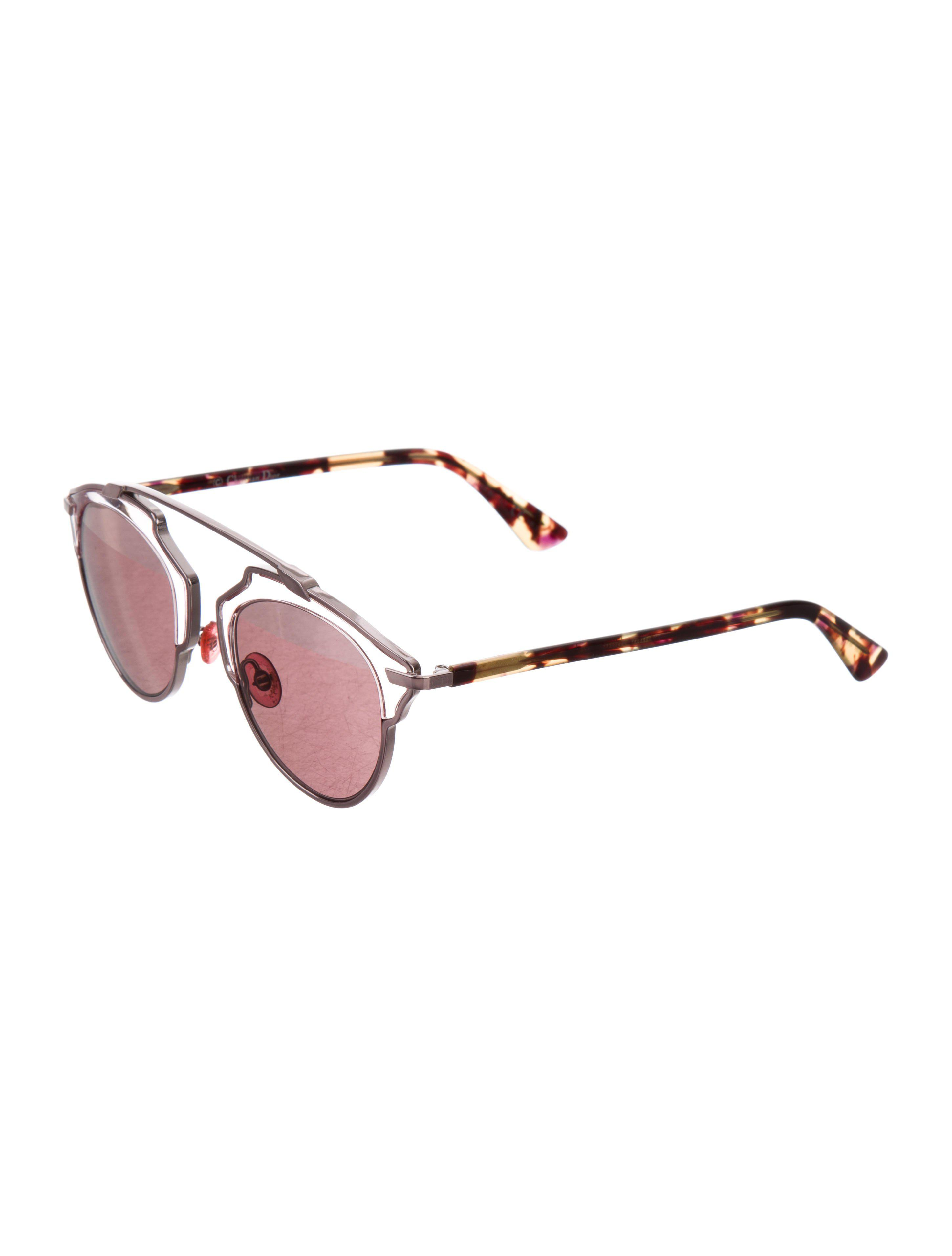 a711c5af10 Lyst - Dior So Real Reflective Sunglasses in Metallic