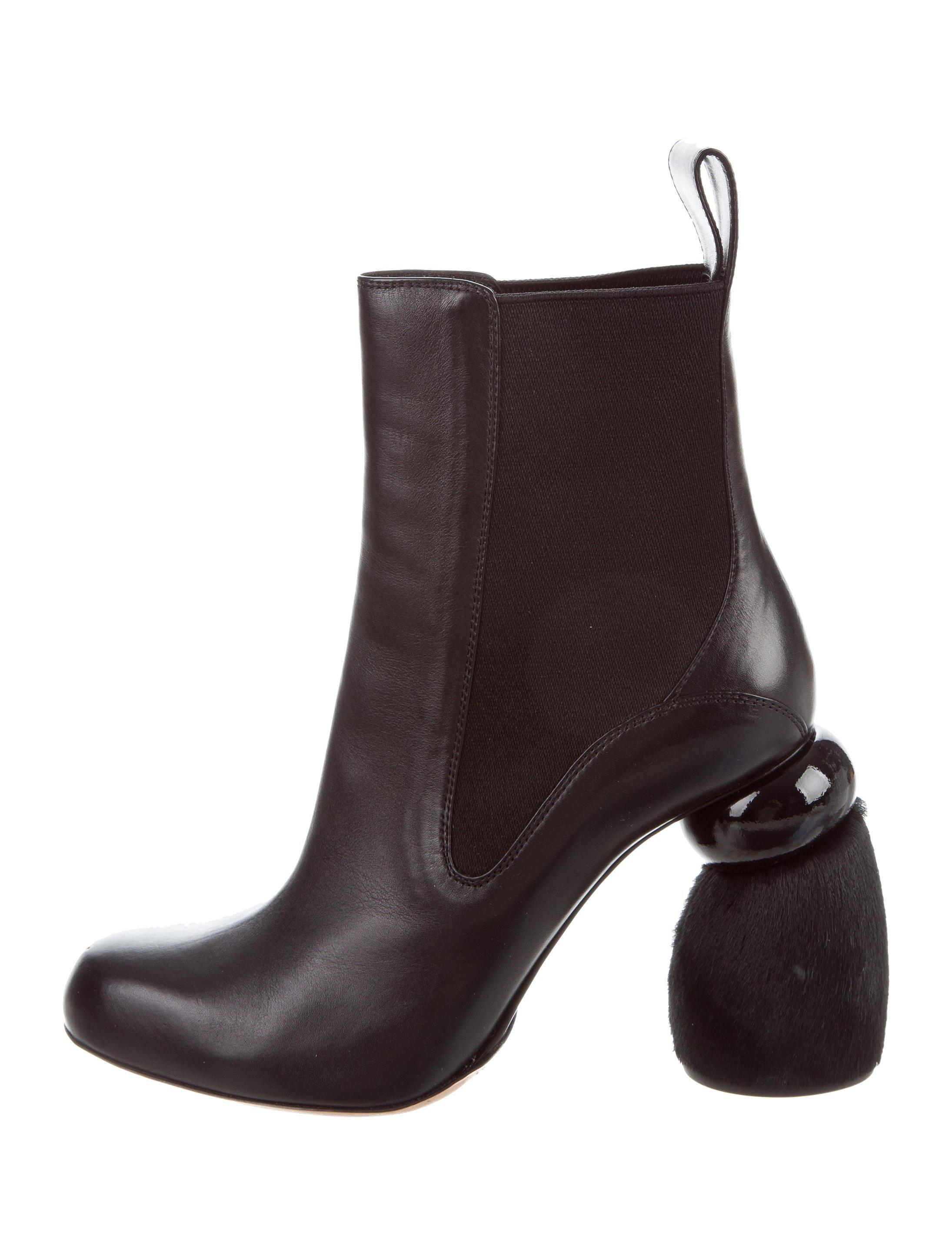Dries Van Noten Leather Round-Toe Boots w/ Tags where to buy enjoy shopping for cheap price cheap 100% original fashion Style cheap price 0i5qTZZUu