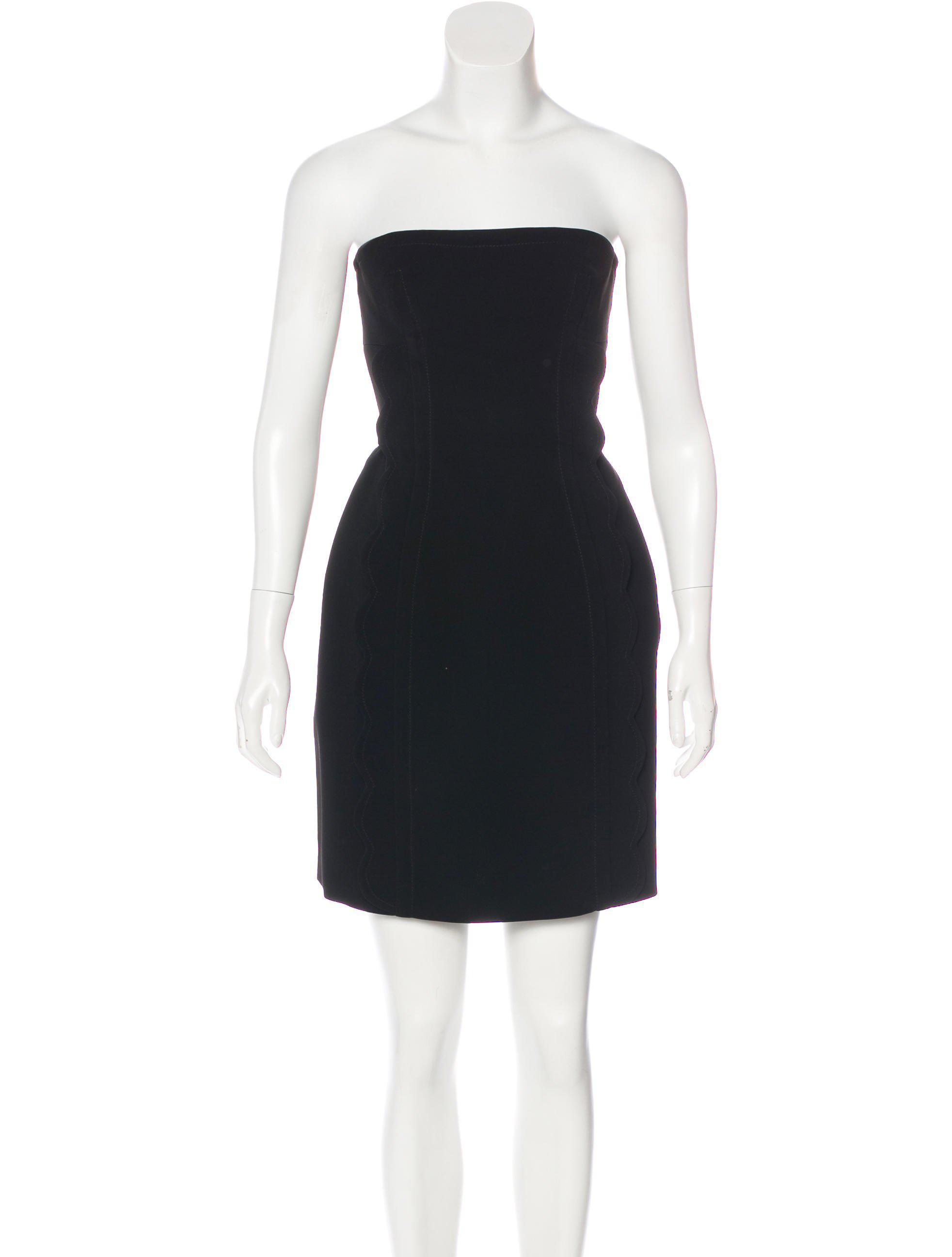 scalloped halter dress - Black Miu Miu aCqu1