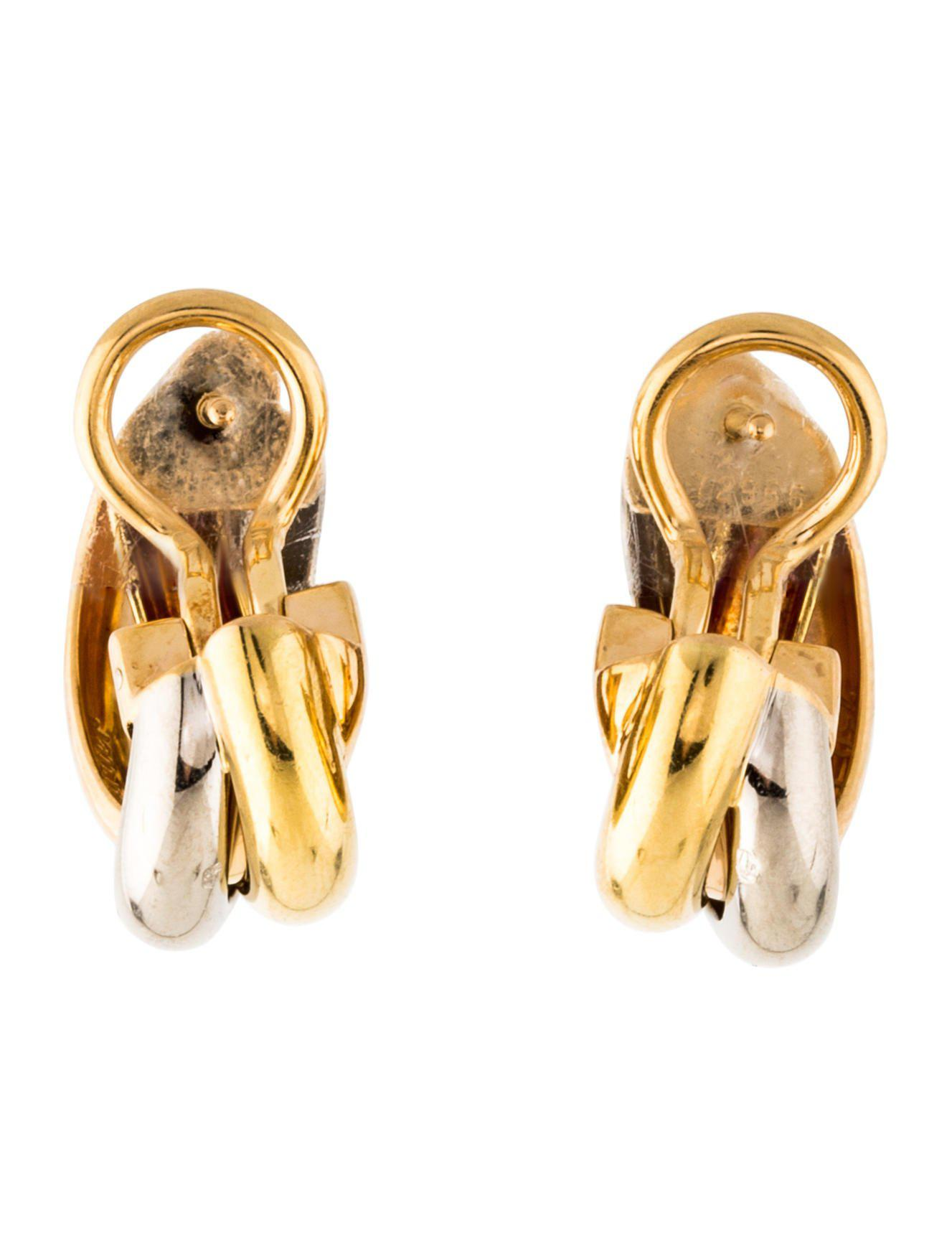 contessa cartier vintage the k trinity ring de gold products earrings