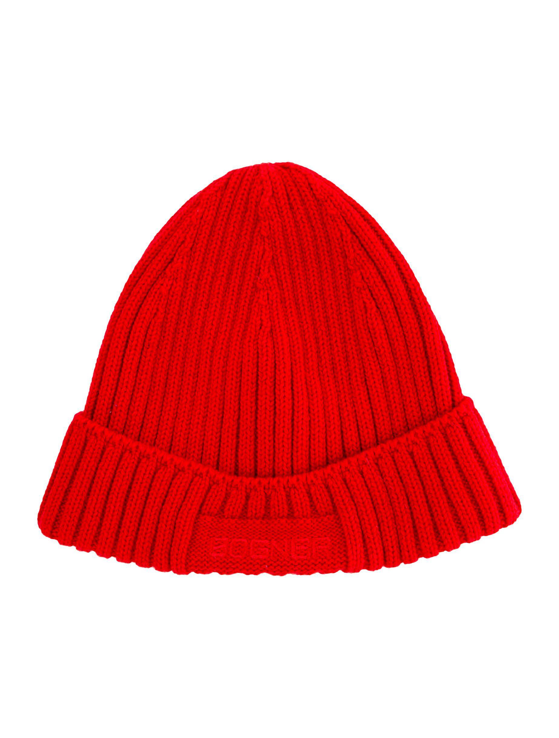 17c0d15eab67e Bogner - Red Logo Virgin Wool Beanie for Men - Lyst. View fullscreen