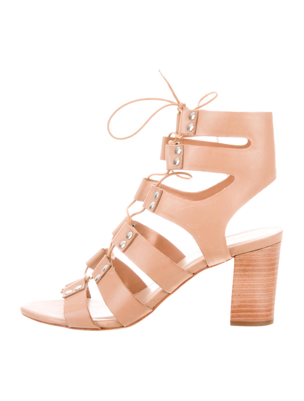 0dd51ad70dc1 Lyst - Loeffler Randall Hana Leather Sandals W  Tags Tan in Metallic