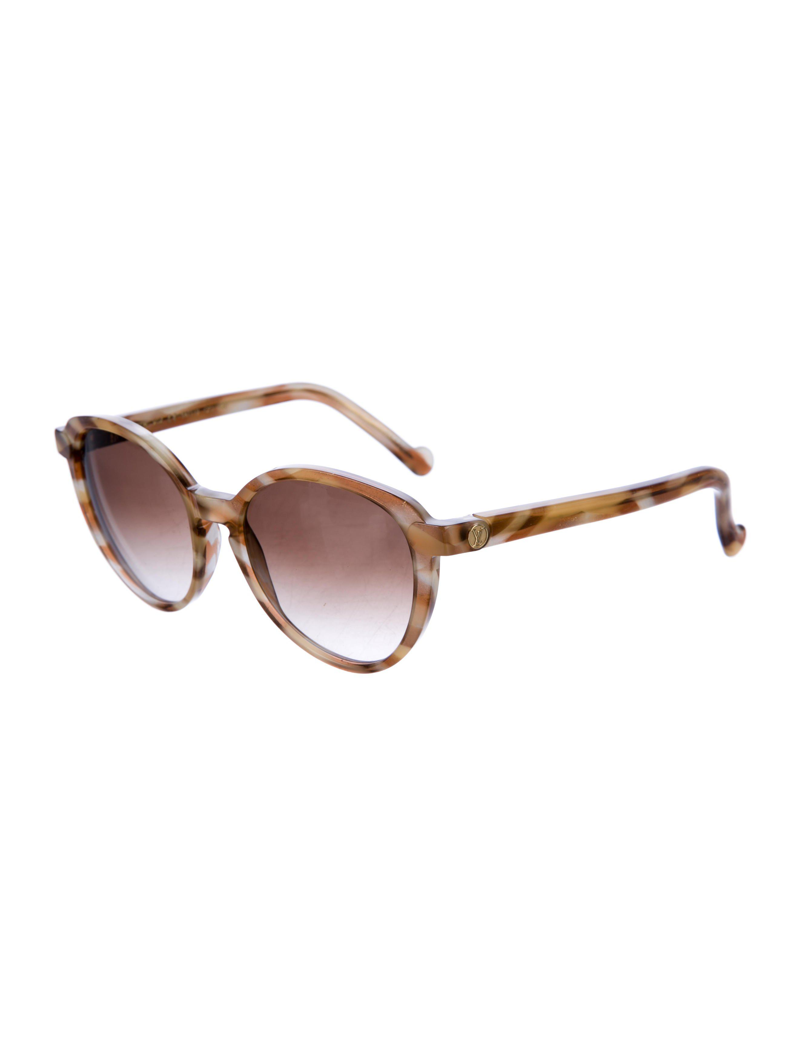 47460eafa1f6 Lyst louis vuitton ava round sunglasses honey in yellow jpg 2645x3489 Ava  louis vuitton sunglasses