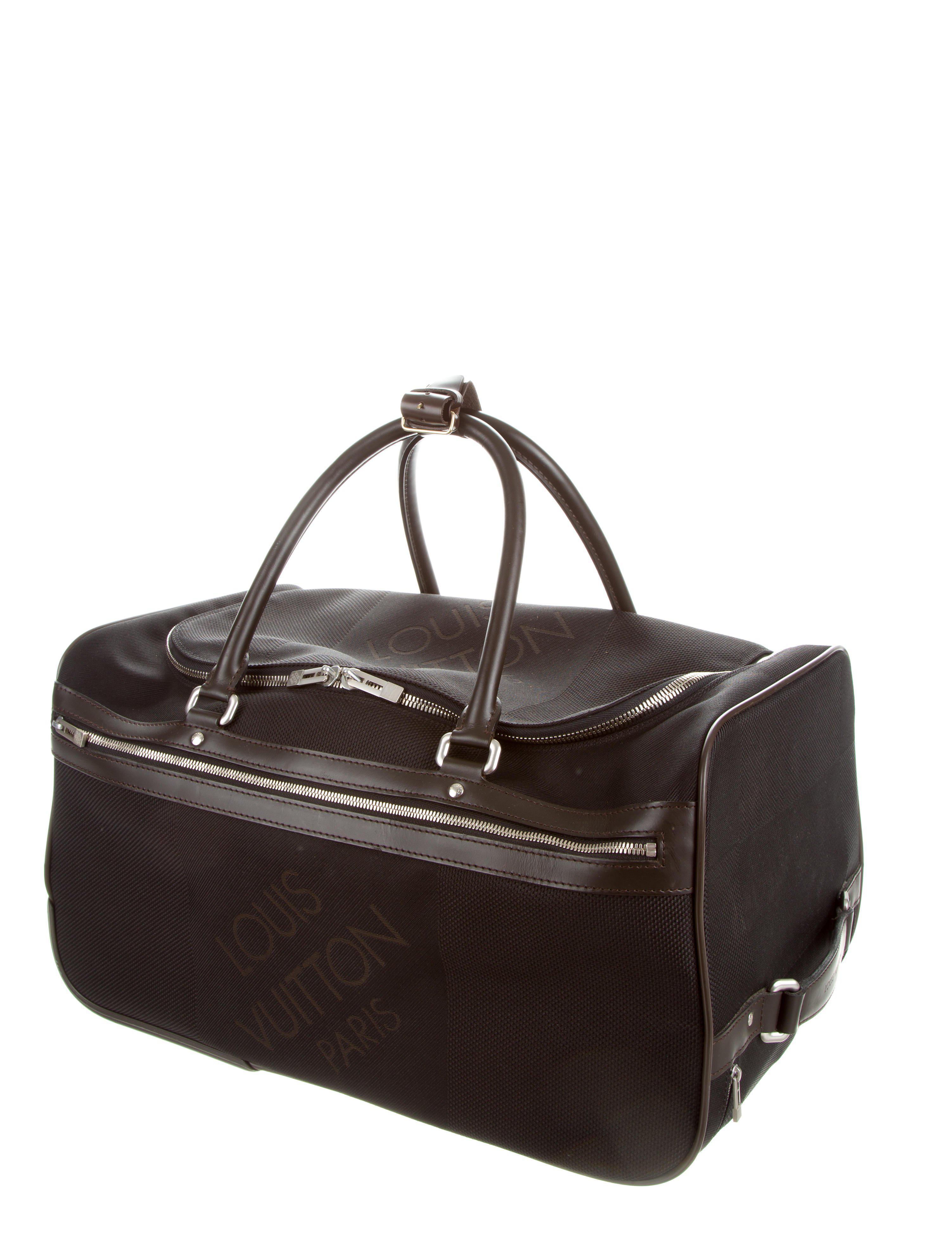 Louis Vuitton Monogram Eole 50 Rolling Travel Duffel Bag   ReGreen ... 65b771a45c