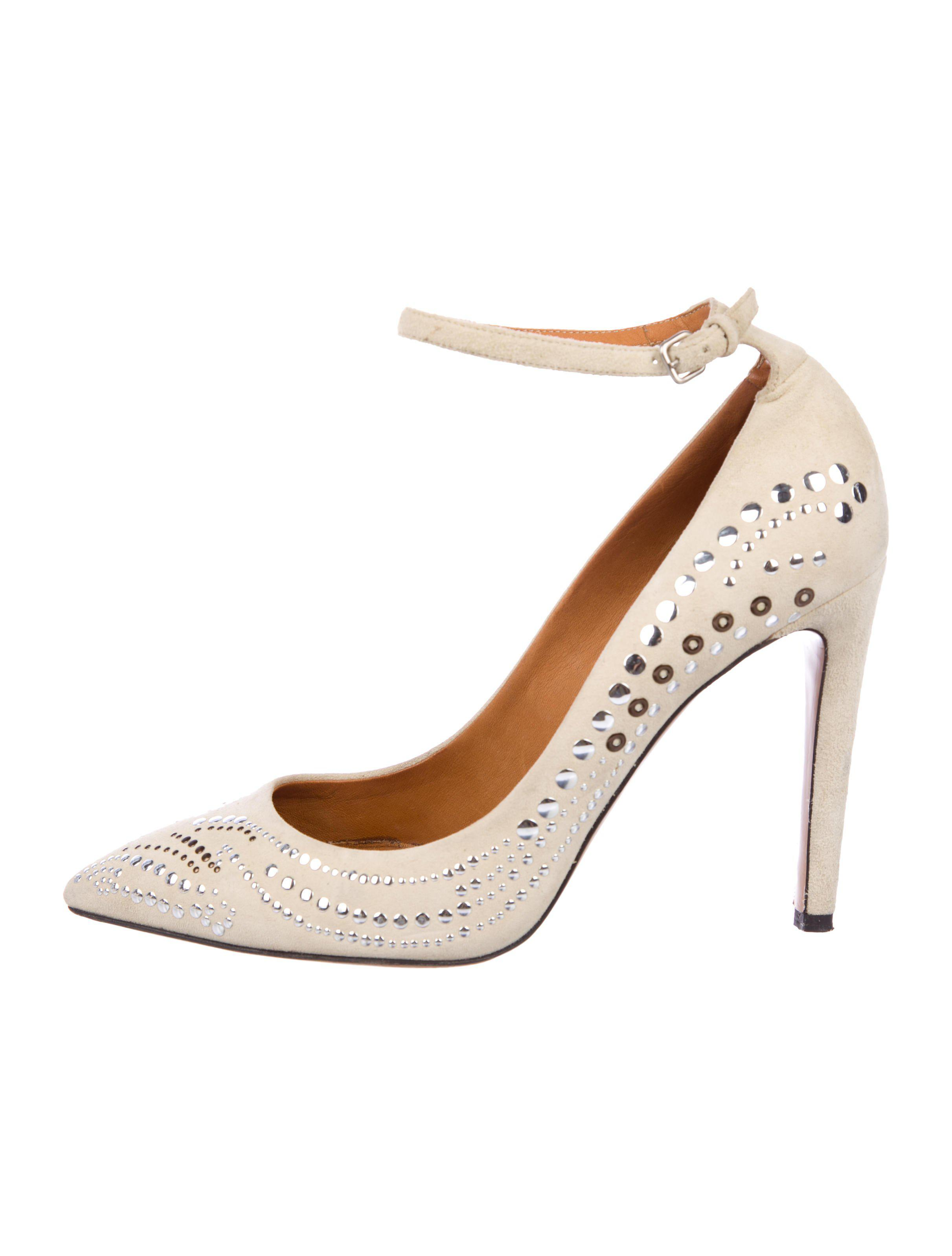 outlet pictures Isabel Marant Suede Embellished Pumps countdown package for sale explore cheap online free shipping new cheap sale Inexpensive 5NIbR