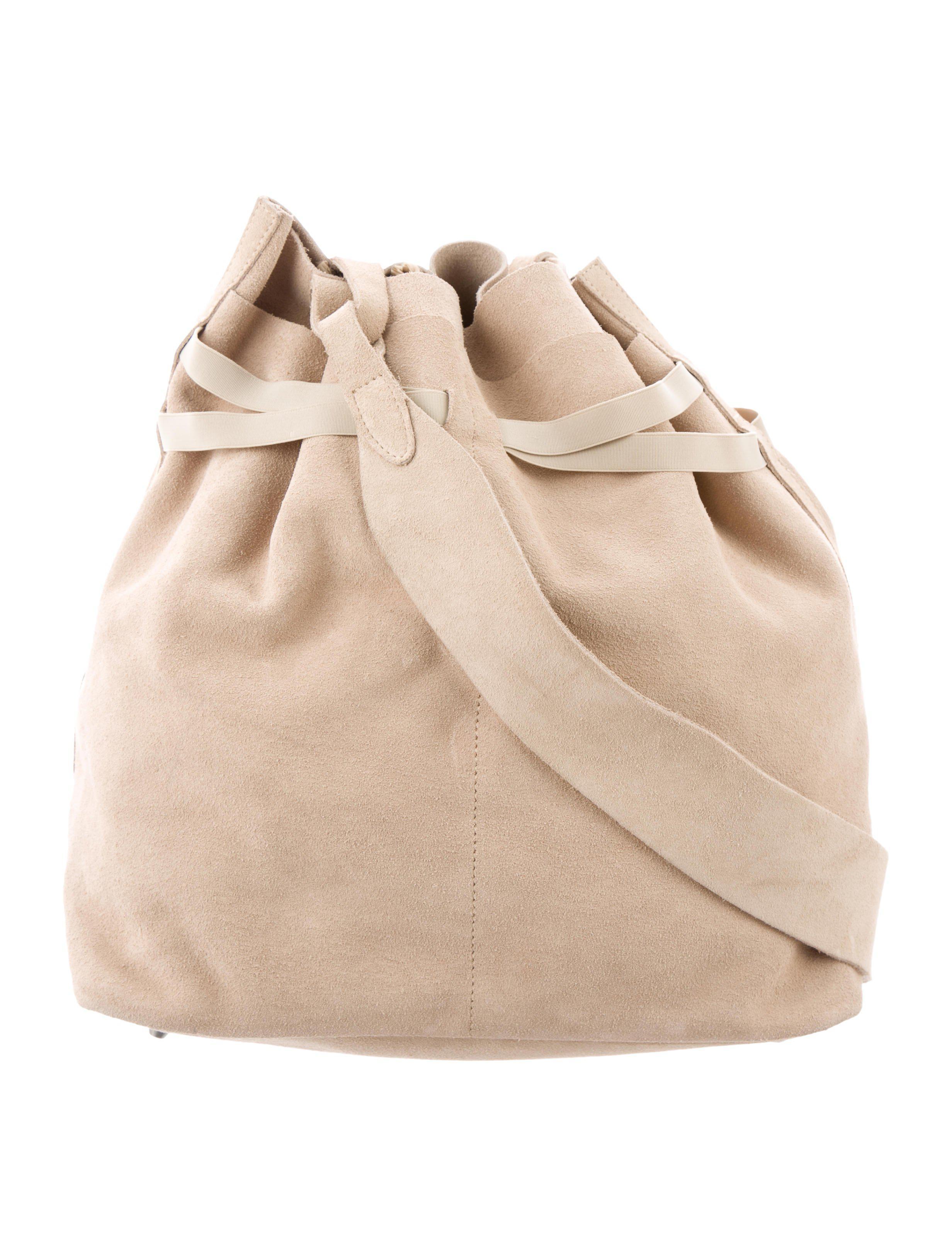 d2f95c4c609c Repetto - Metallic Suede Shoulder Bag Tan - Lyst. View fullscreen