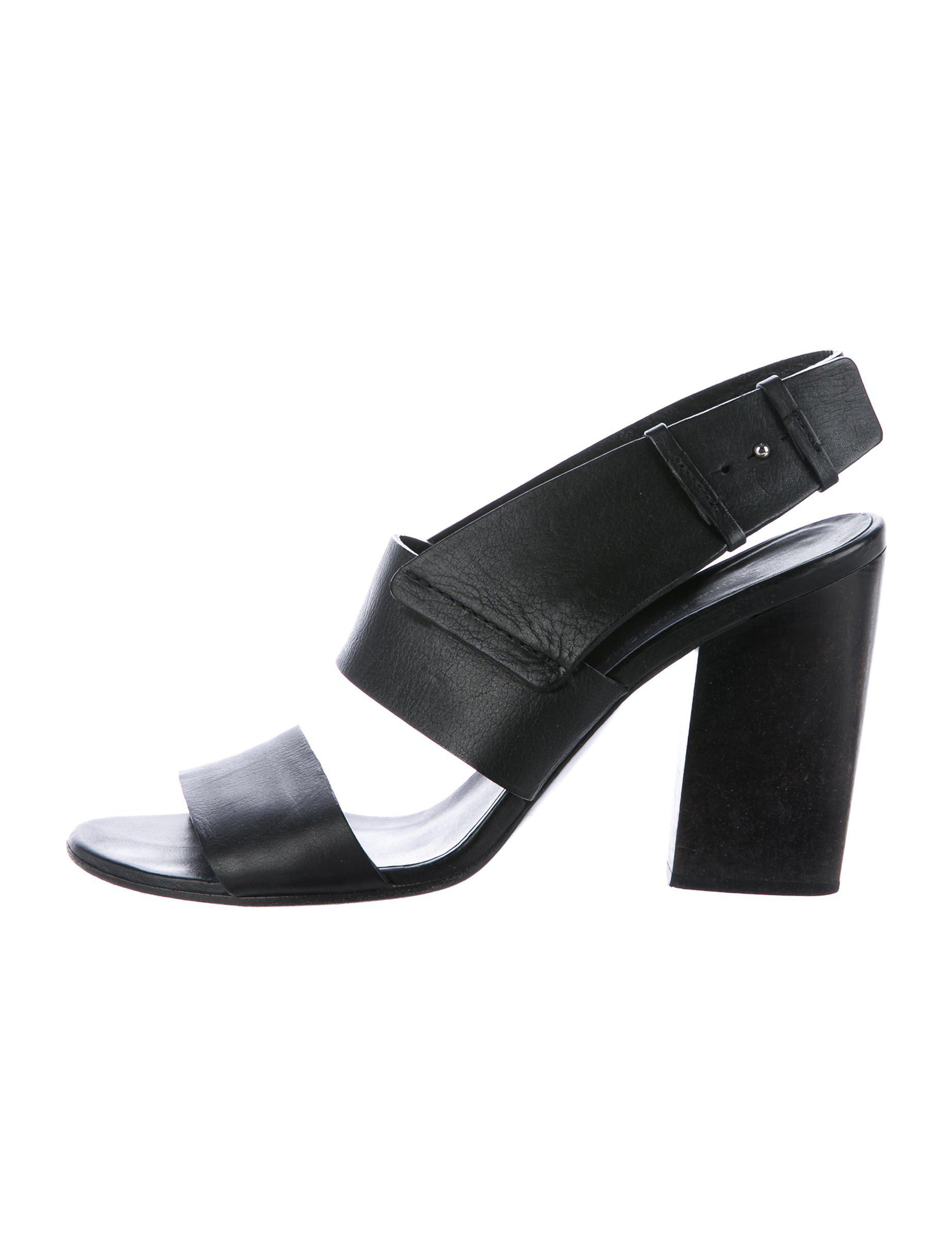 Costume National Leather Crossover Sandals clearance find great outlet lowest price zMgvymDAu
