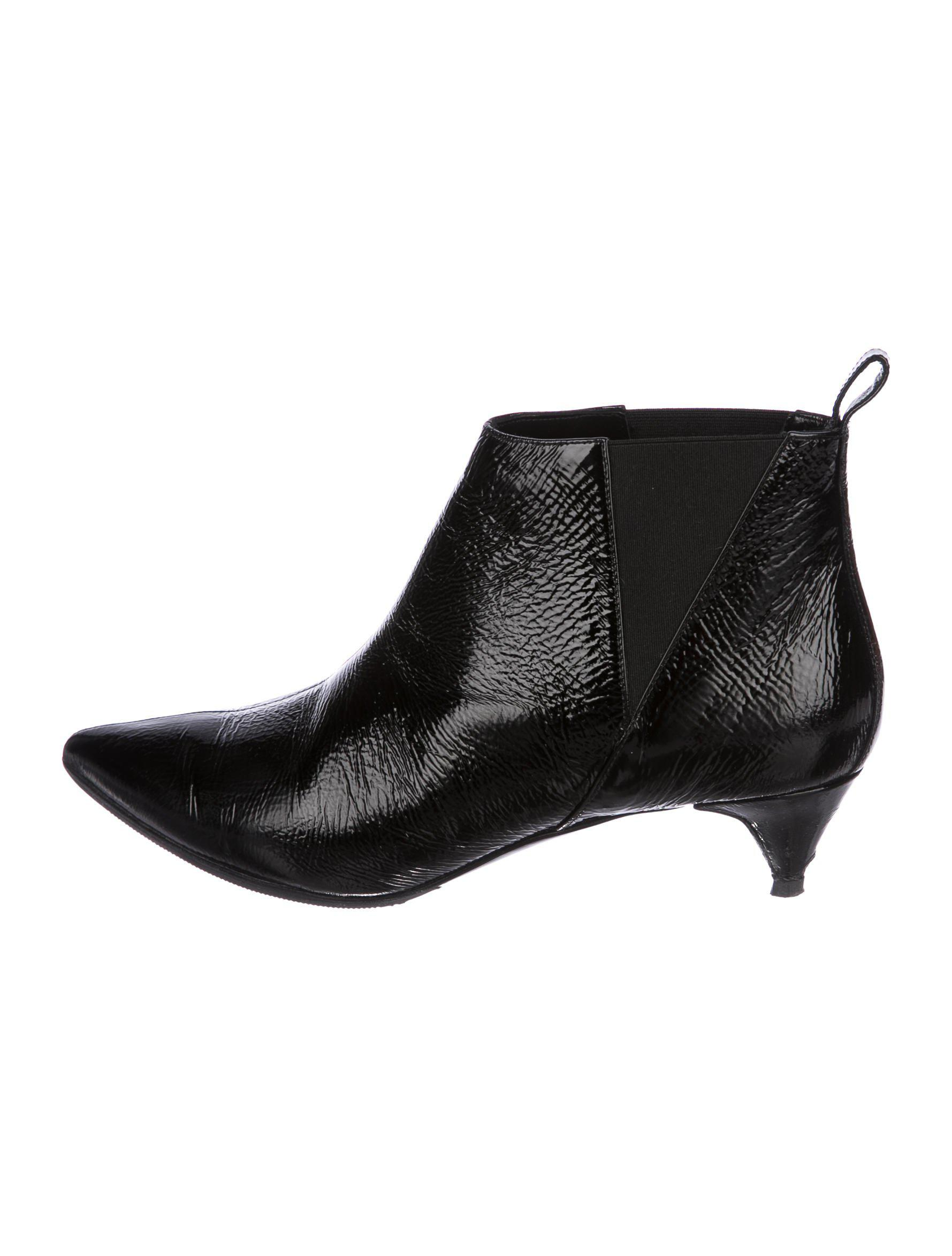Pierre Hardy Patent Leather Ankle Boots Discount Clearance Store Huge Surprise Sale Online Buy Online New Buy Cheap Brand New Unisex jeRwzIq