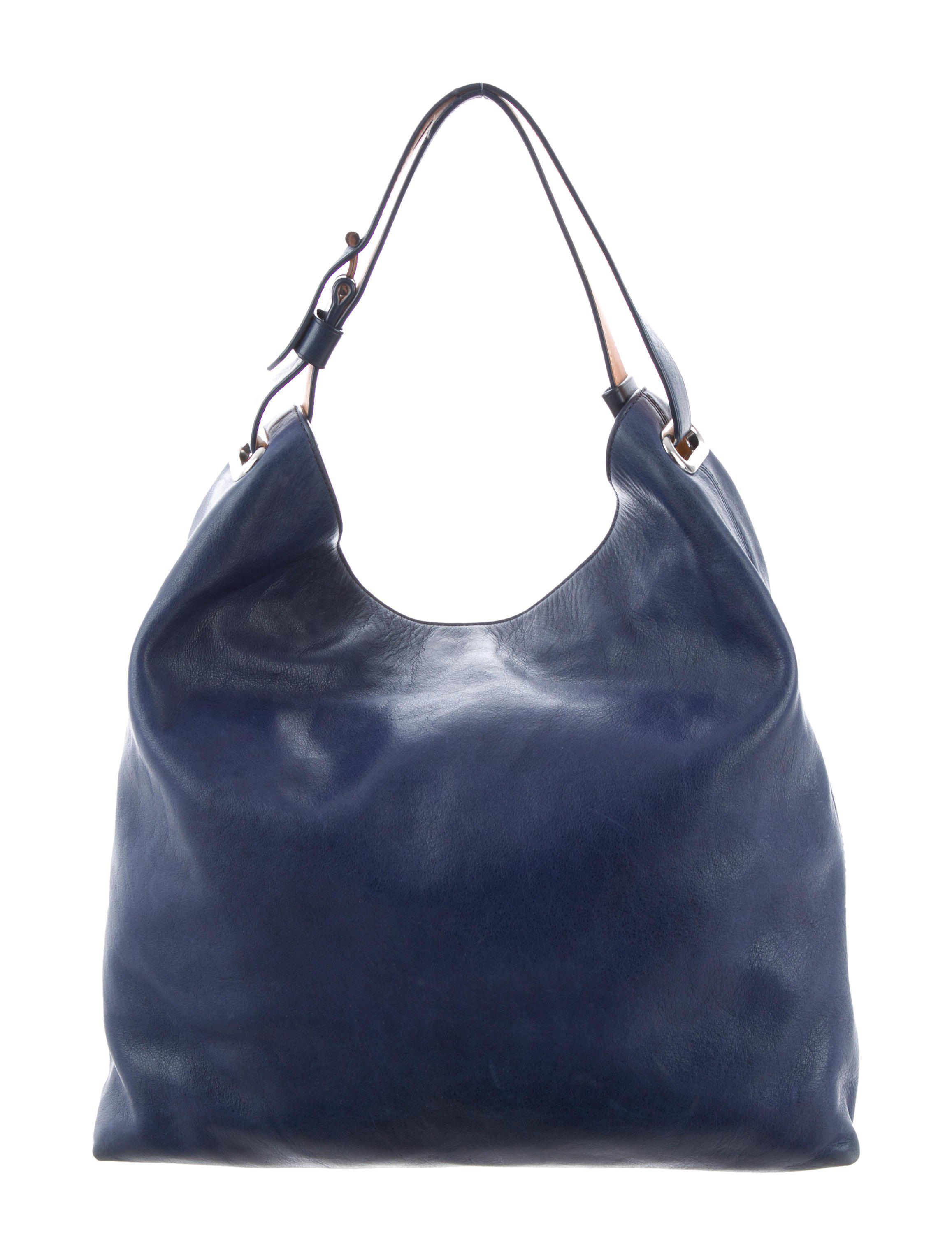 774f4a0bb1eb Lyst - Reed Krakoff Leather Rdk Hobo Blue in Metallic