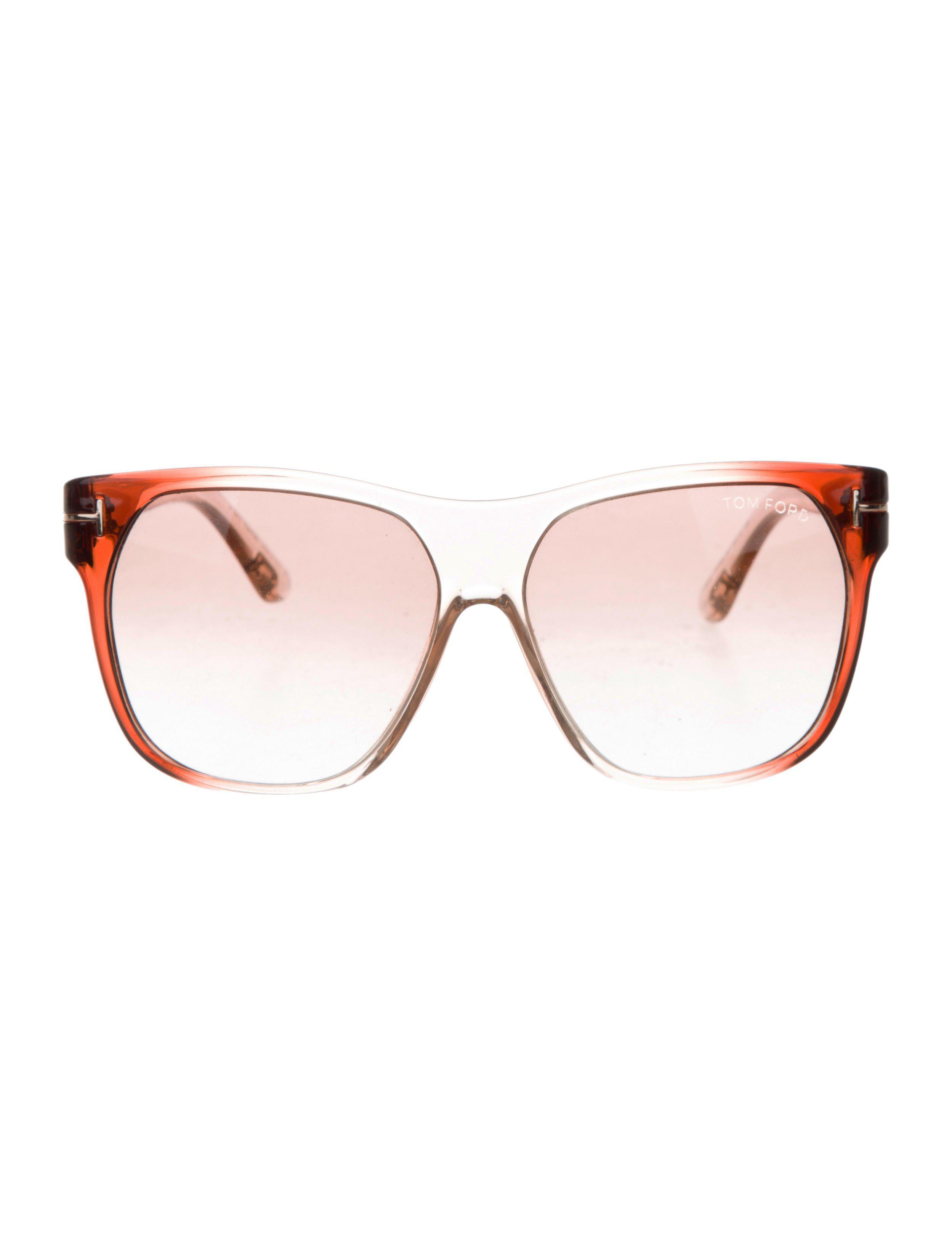ce8624eea4 Lyst - Tom Ford Frederico Square Sunglasses in Purple