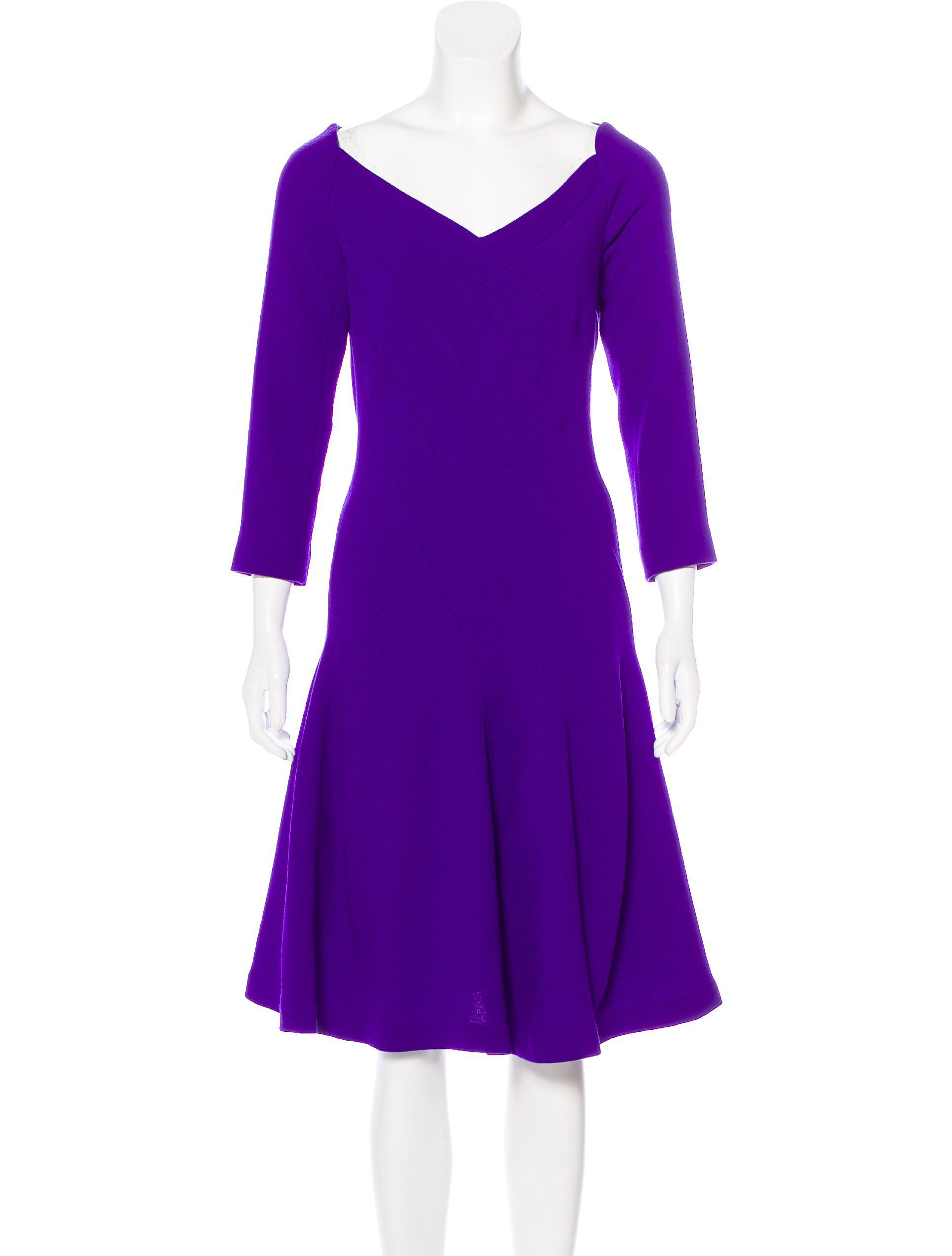 Roland Mouret Colorblock Midi Dress w/ Tags Cheap Wide Range Of wa9Q7Tn30