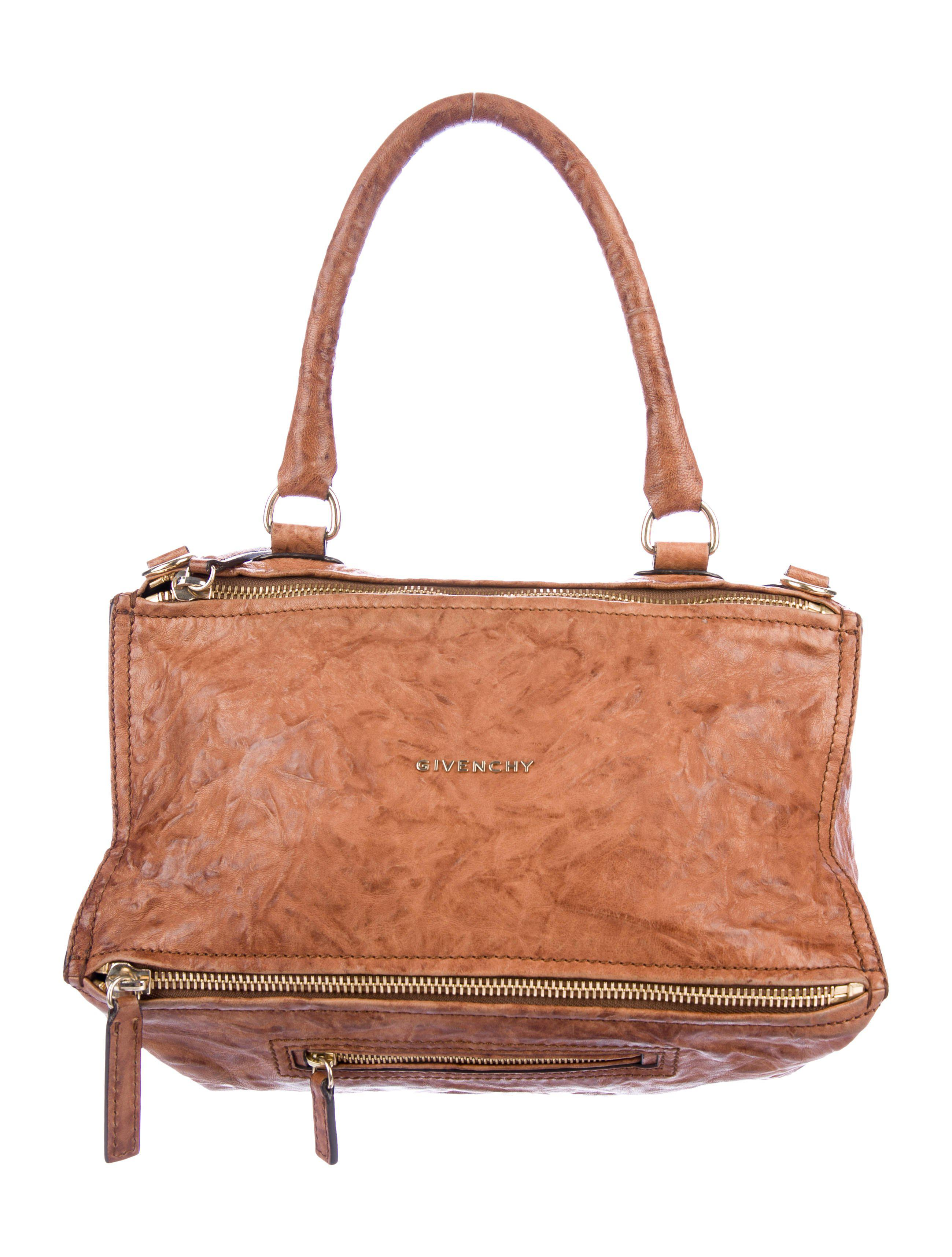 0643a18cb4 Givenchy - Metallic Medium Pandora Bag Tan - Lyst. View fullscreen