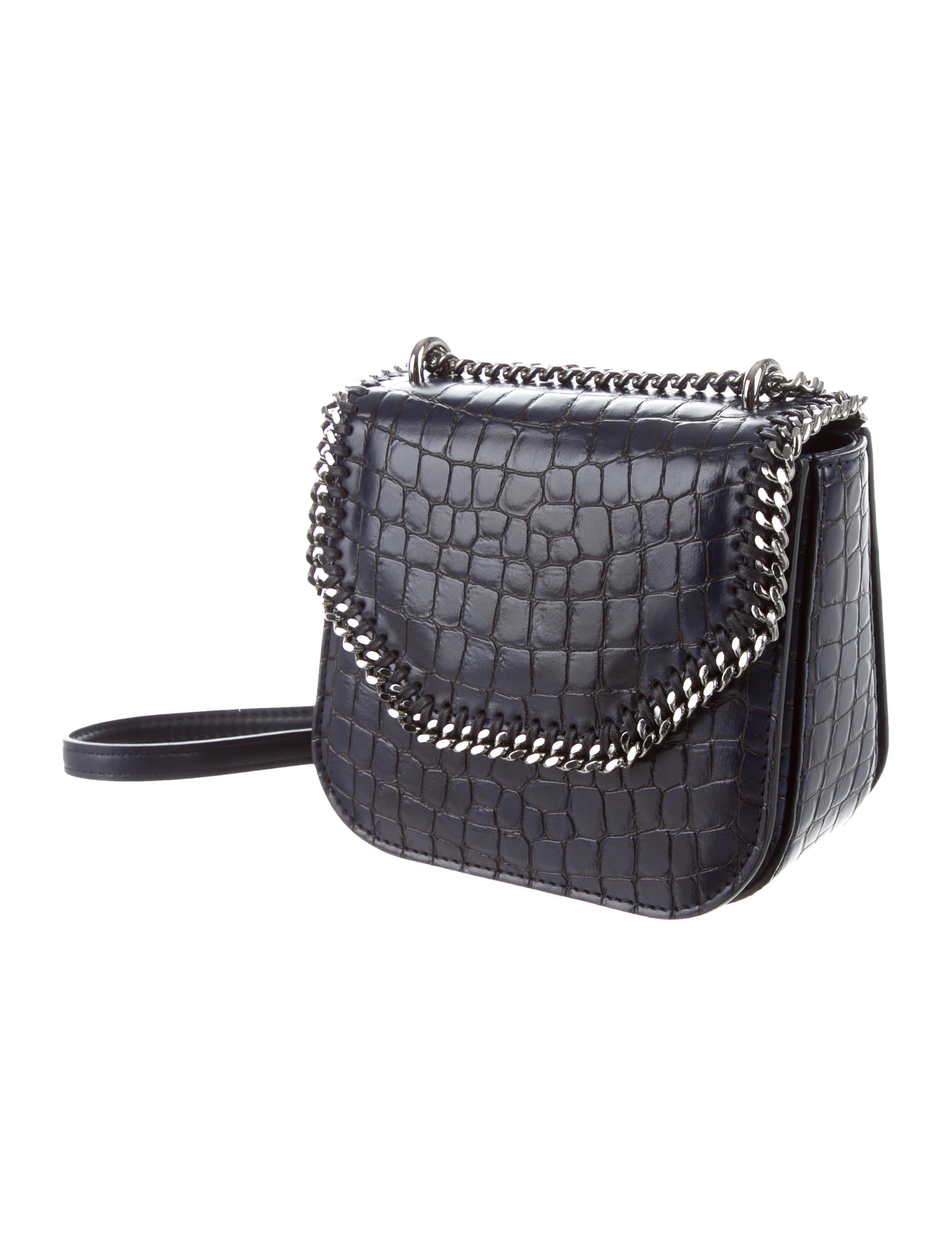 dc68cb8a73 Stella McCartney - Blue Mini Falabella Box Shoulder Bag Navy - Lyst. View  fullscreen