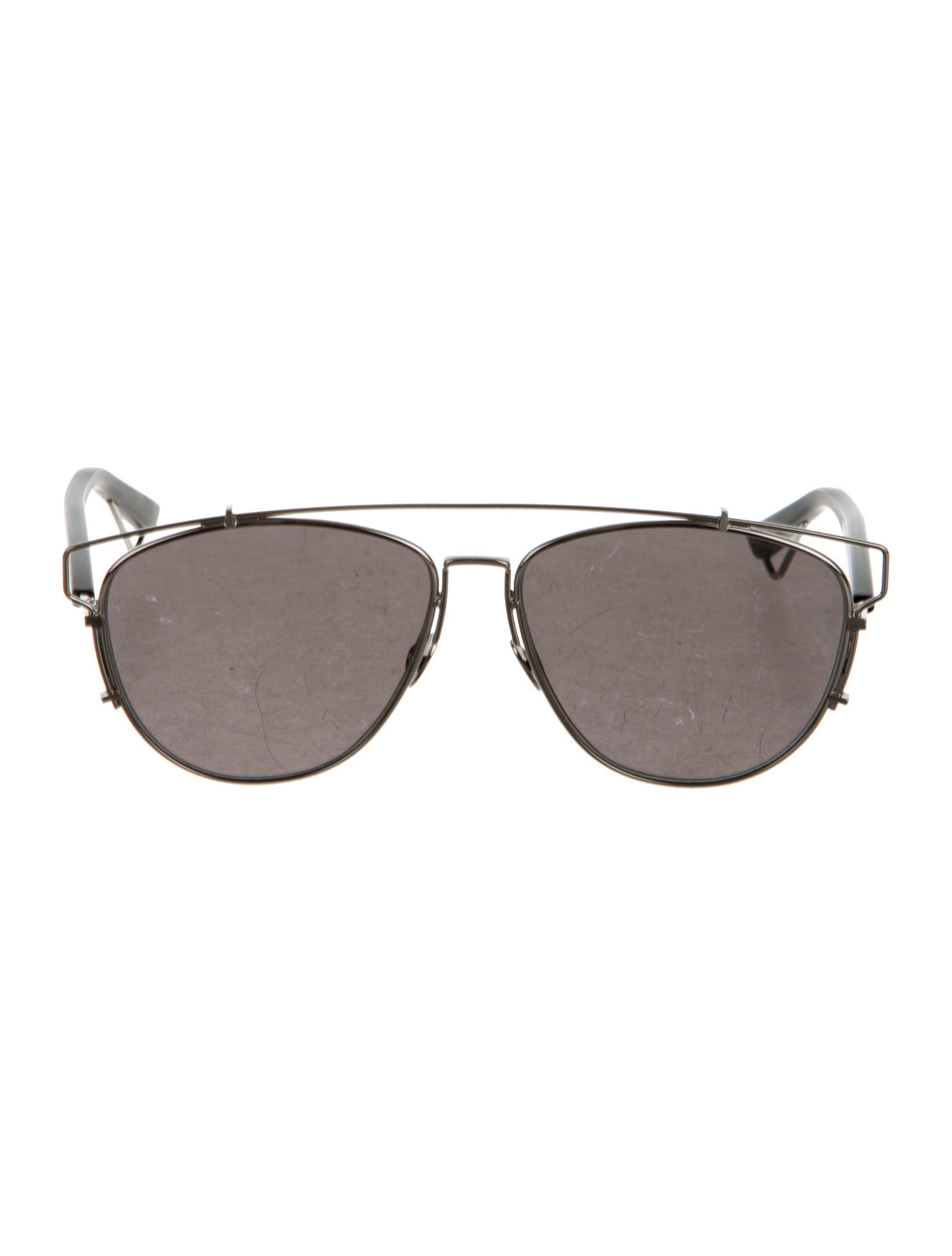 ac71230e77c9 Lyst - Dior Technologic Reflective Sunglasses Silver in Metallic