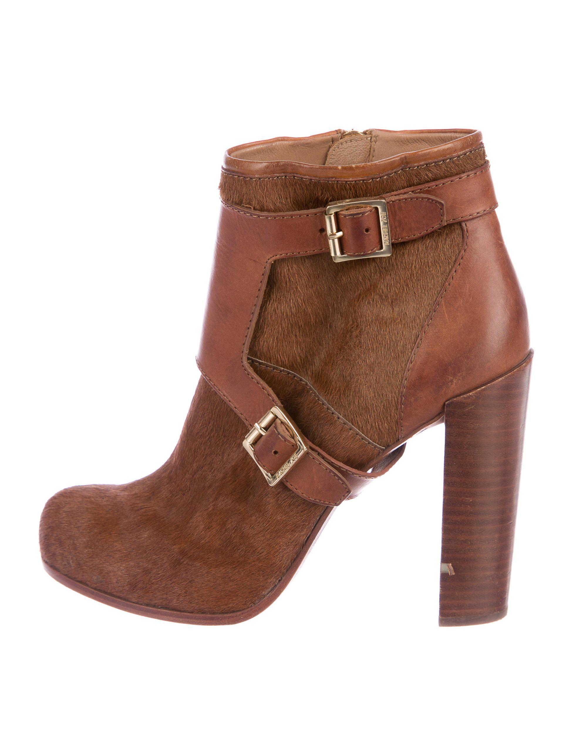 outlet store Rachel Zoe Ponyhair Round-Toe Booties cheap sale with paypal eastbay sale online ACjiksY
