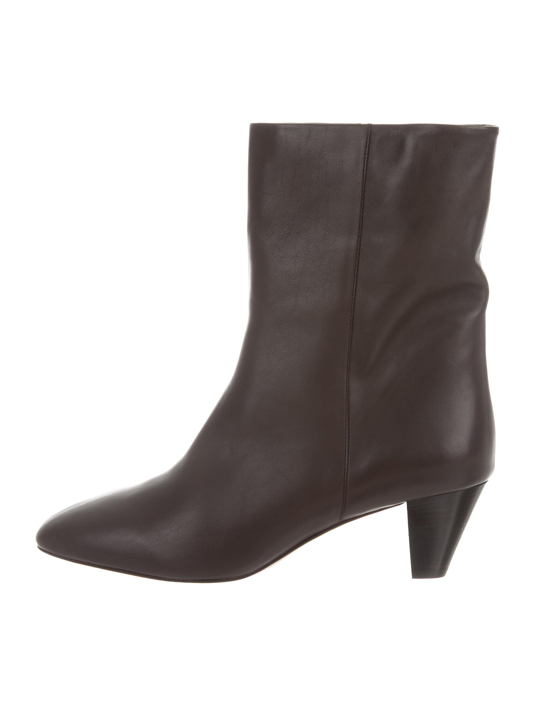 clearance wiki Isabel Marant Suede Round-Toe Mid-Calf Boots discount eastbay release dates authentic EPmIc689