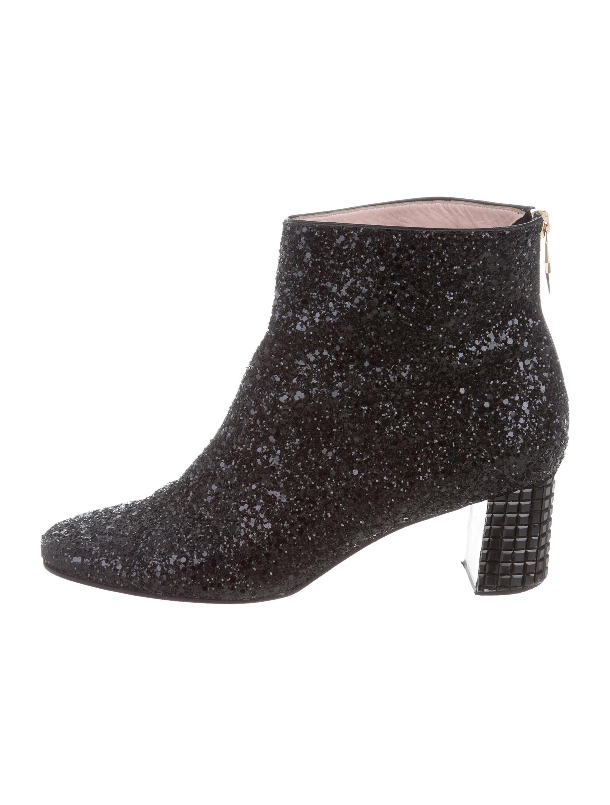 shop offer cheap online Kate Spade New York Sequined Square-Toe Booties 2014 for sale clearance from china aoqDQajdm
