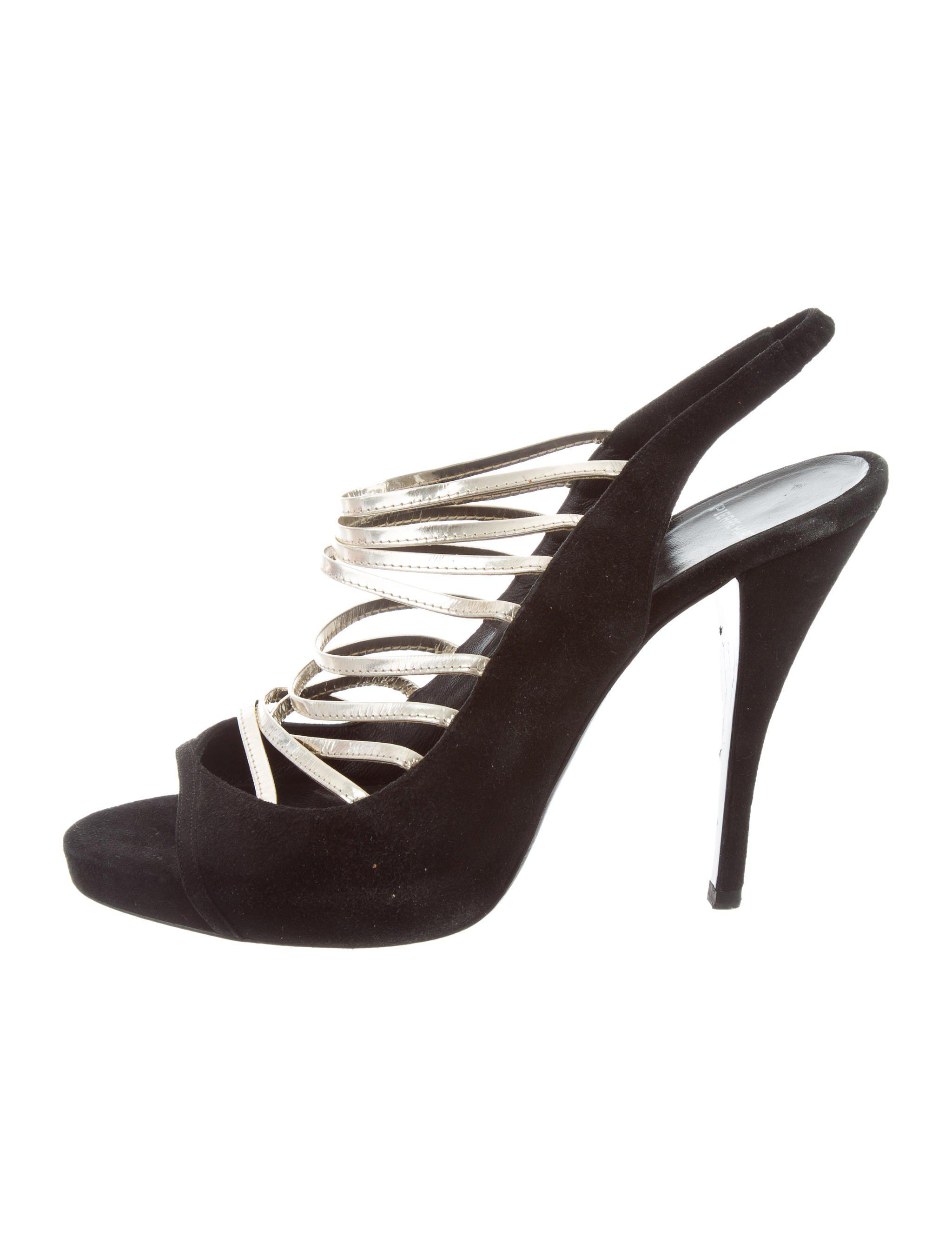 Pierre Hardy Cage Slingback Pumps