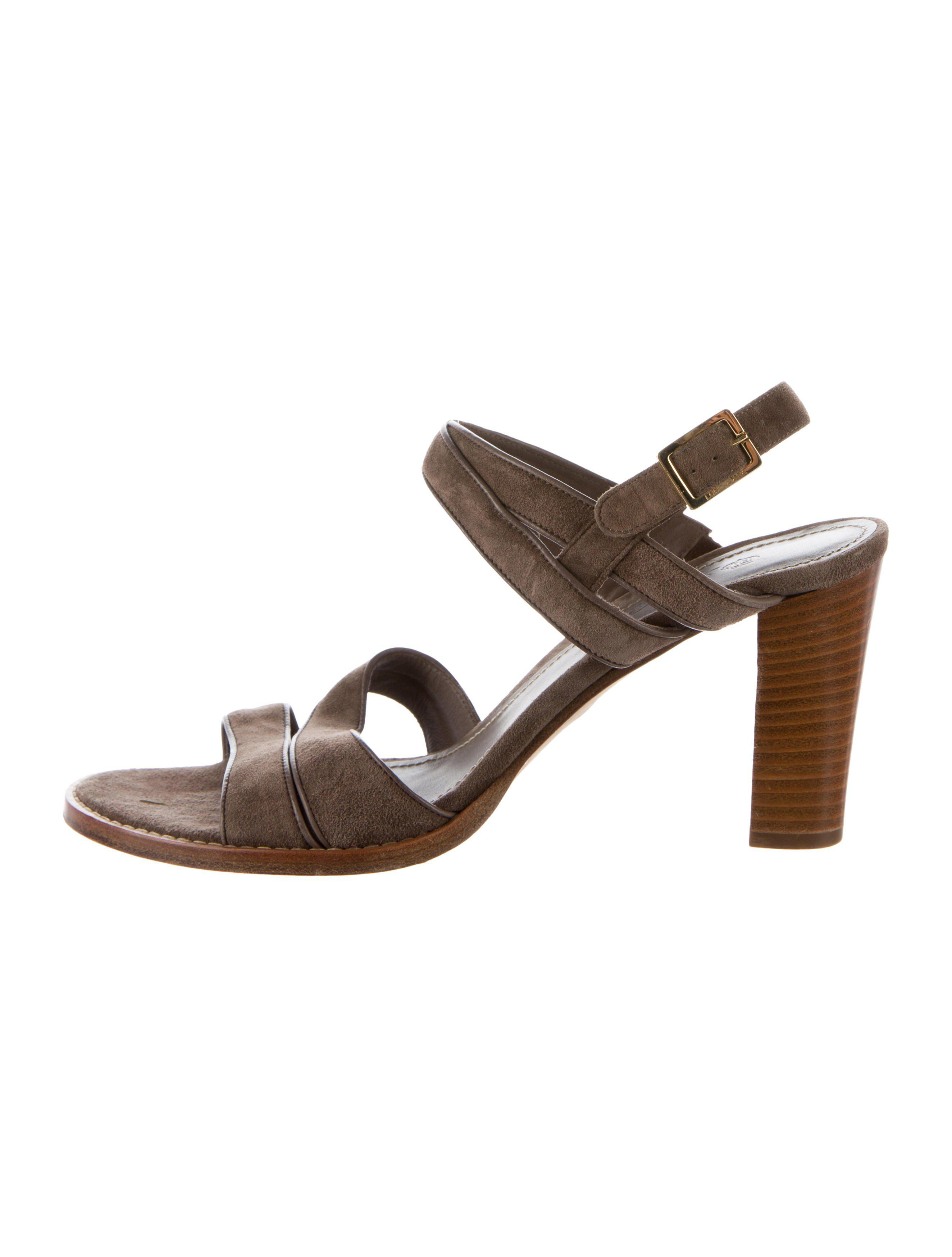manchester great sale cheap online Loro Piana Leather Multistrap Sandals in China cheap price Twyv5dSi