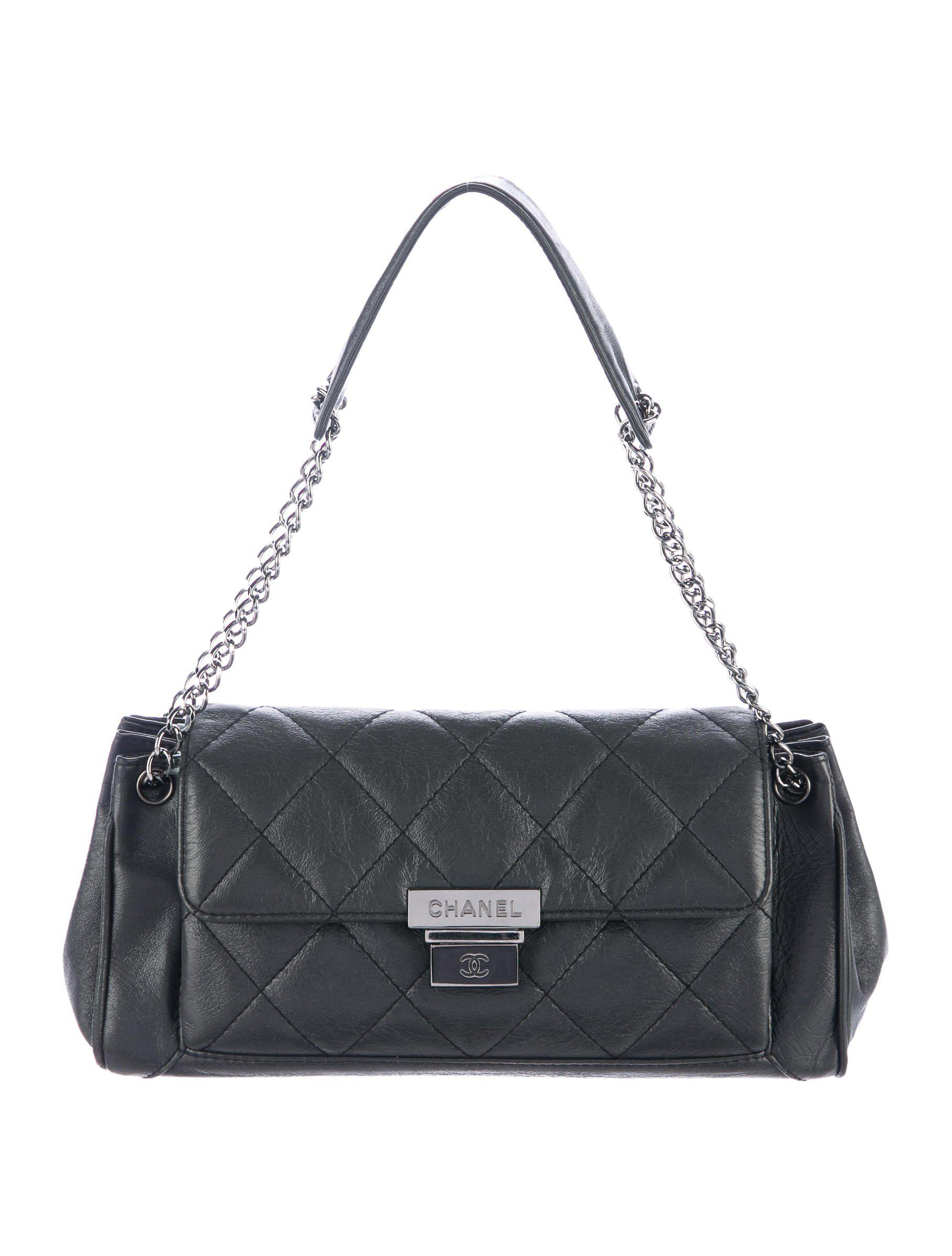 d61343b1f022d1 Chanel - Metallic E/w Lambskin Accordion Flap Bag - Lyst. View Fullscreen