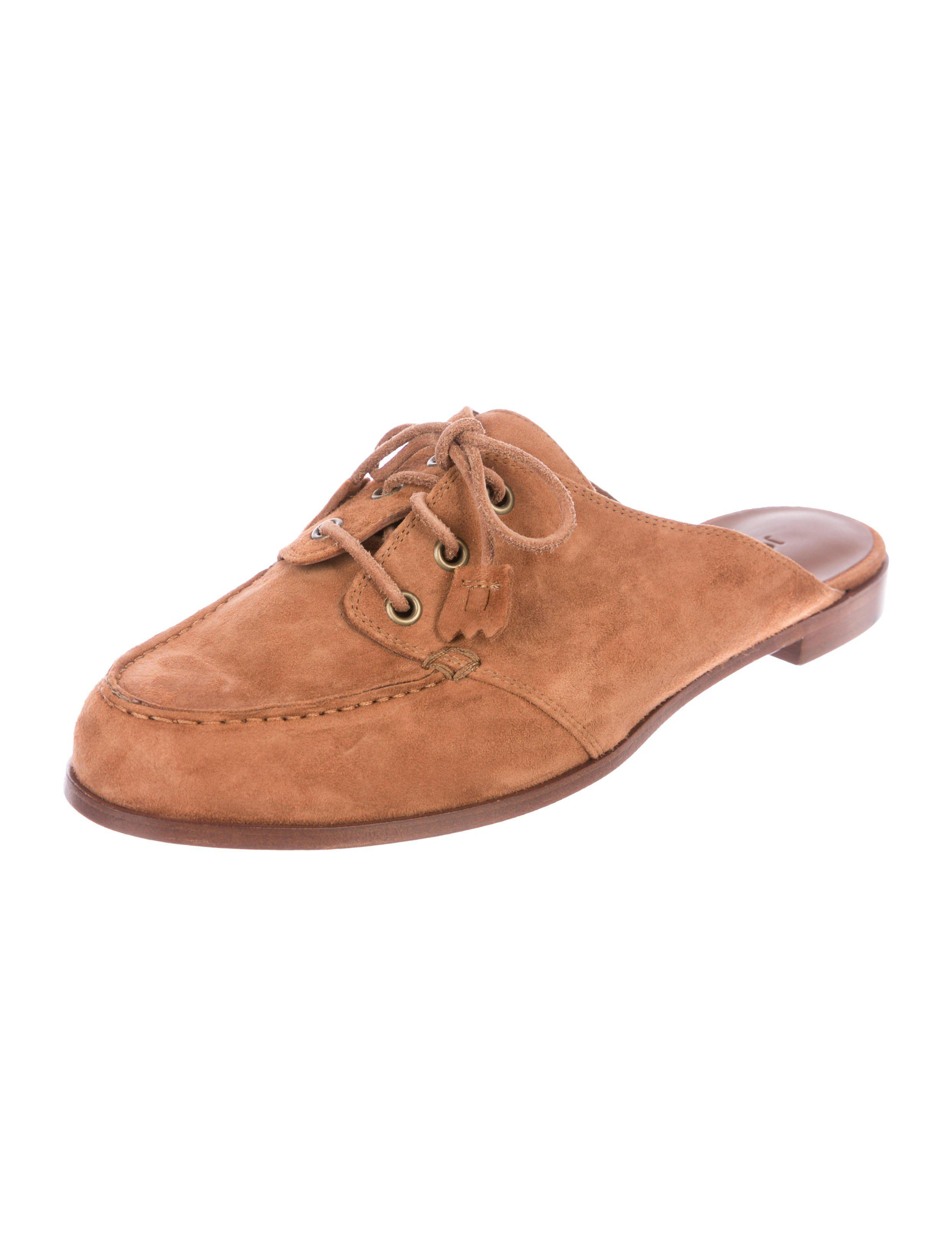 Jenni Kayne Suede Lace-Up Mules buy cheap nicekicks discount sast clearance classic 5Od0ftWl64