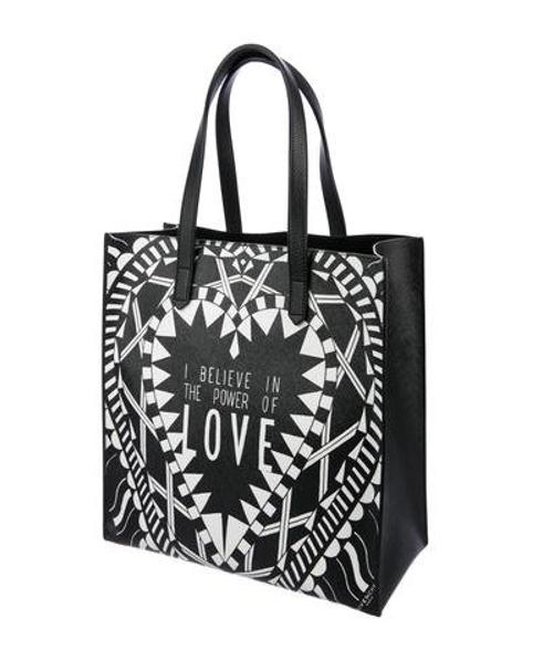 Lyst - Givenchy Power Of Love North South Tote Black in Metallic 9735b063654c2