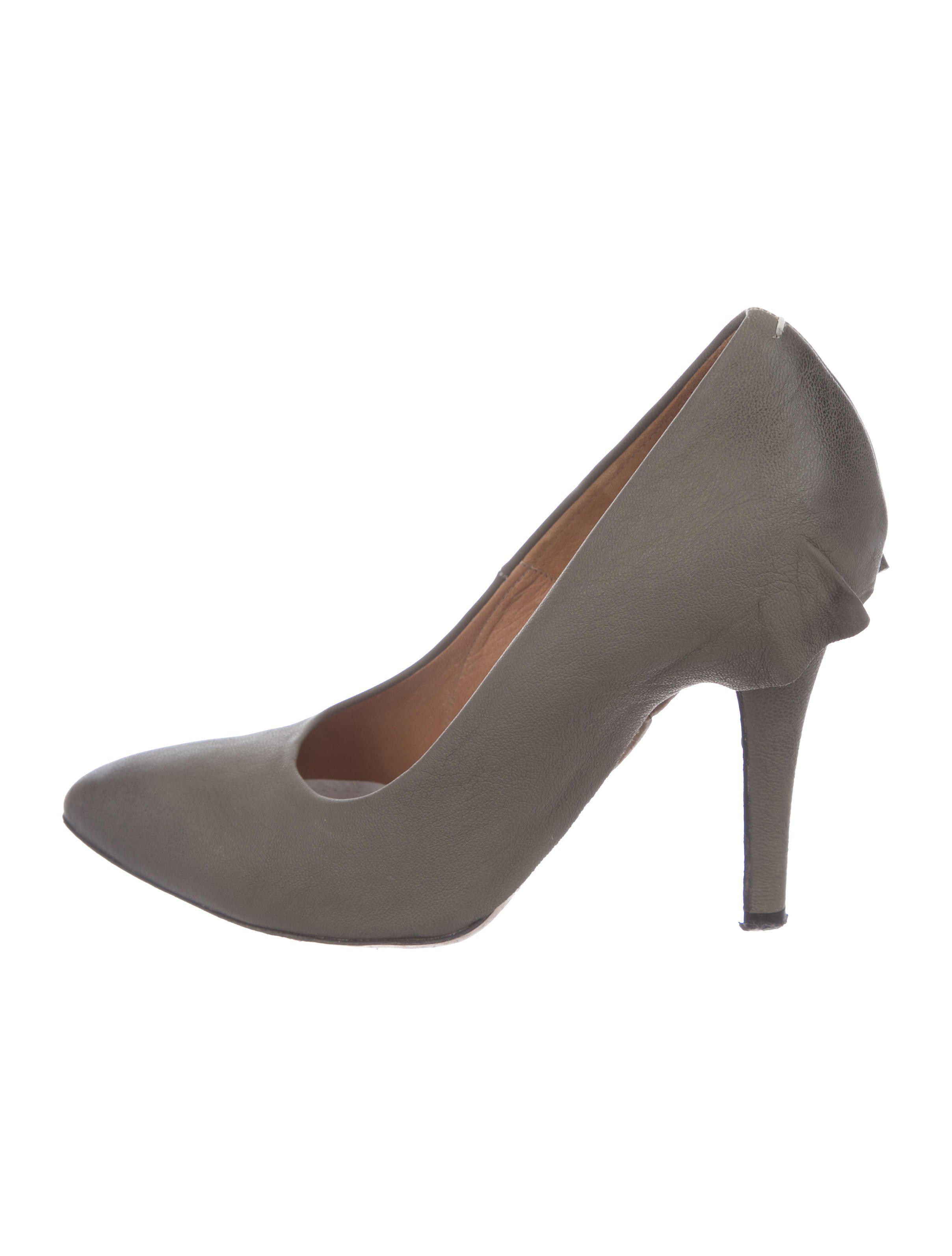 Maison Margiela Skirted Leather Pumps buy cheap top quality cheap new arrival sale get authentic 0Iij7WN3