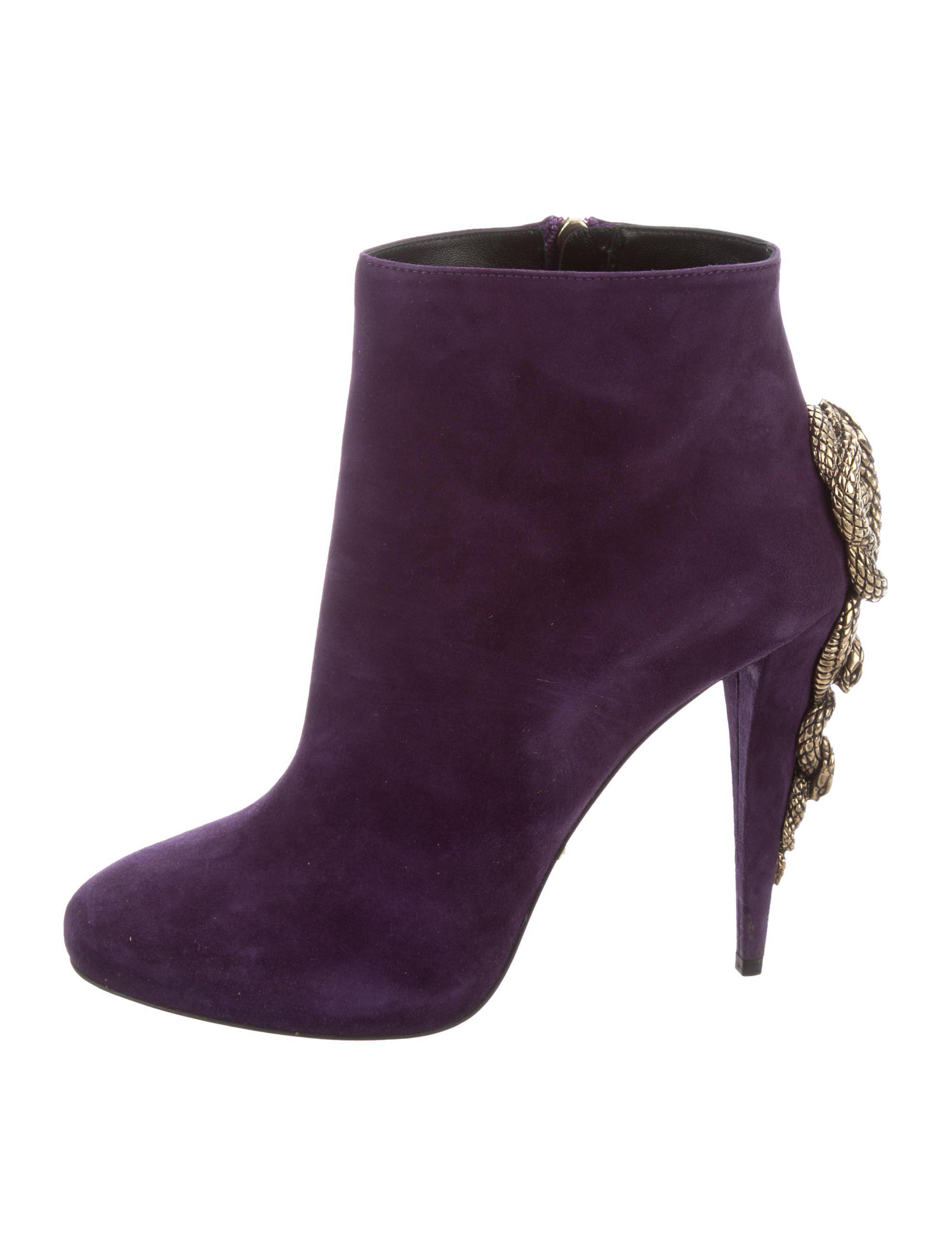 Roberto Cavalli Embellished ankle boots P30nTGbDS