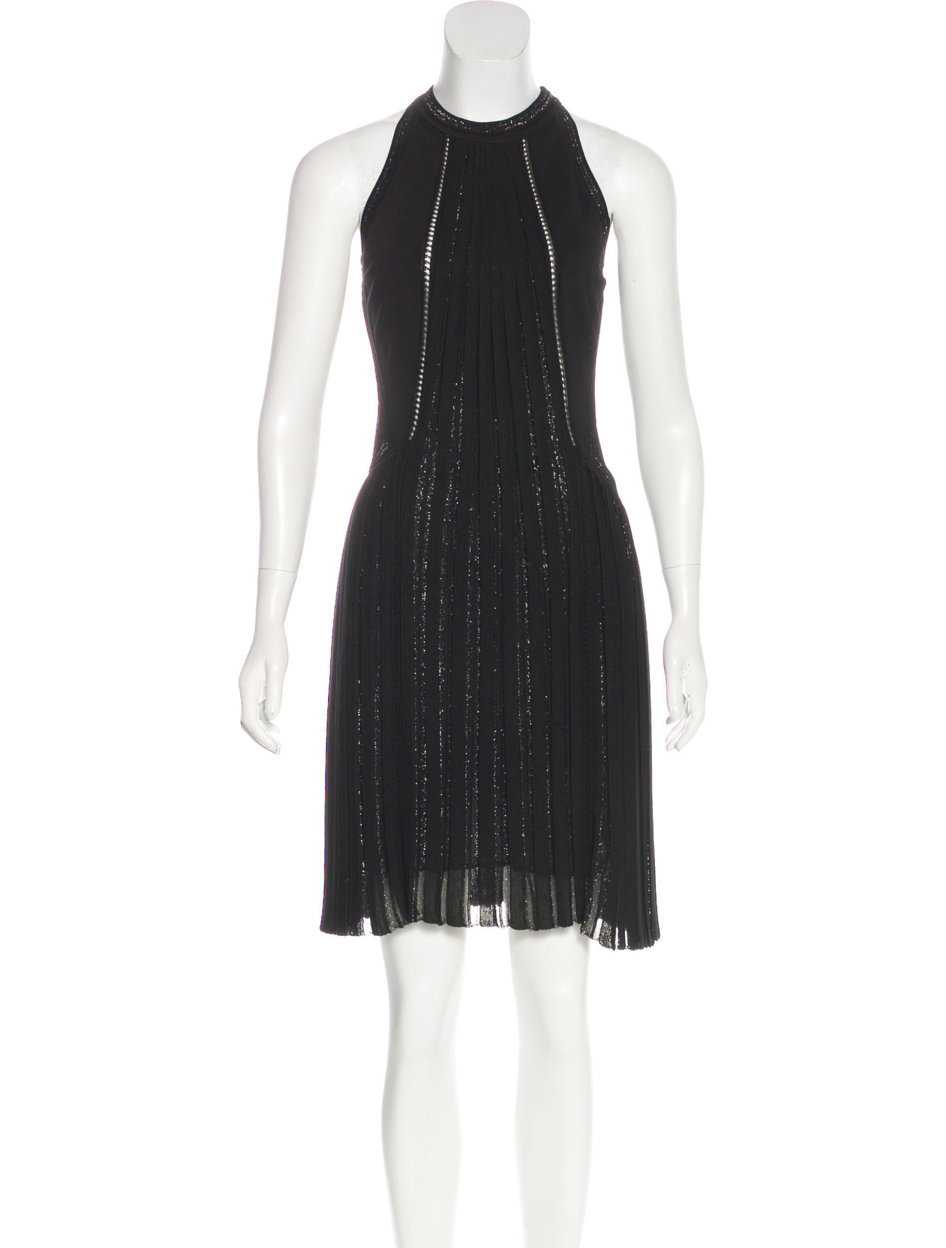 croco embossed dress - Metallic Just Cavalli XwKEXefGT