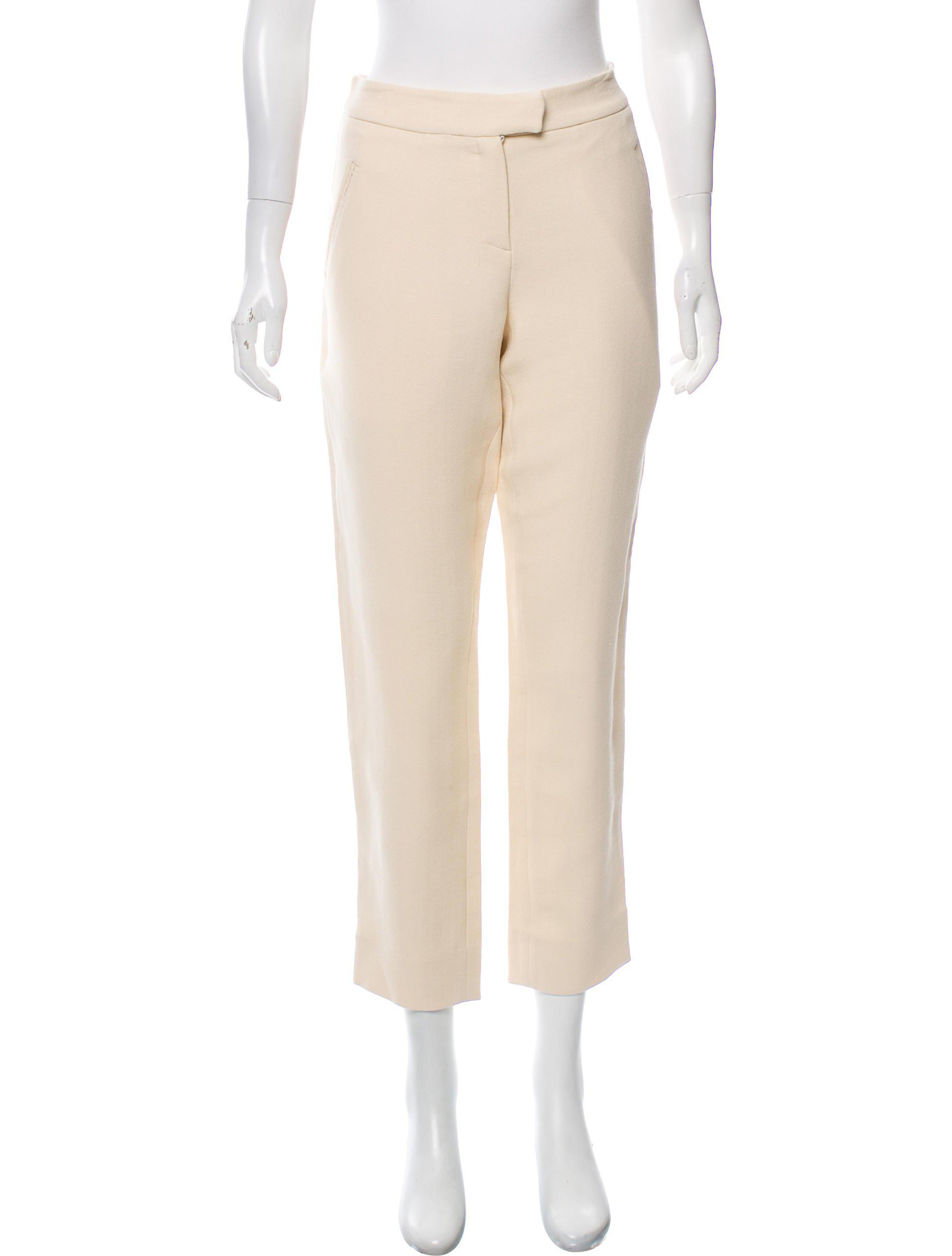 Wide Range Of Sale Online How Much Wes Gordon Mid-Rise Pants With Credit Card Cheap Online Visit Sale Online Visit Online Peyqt