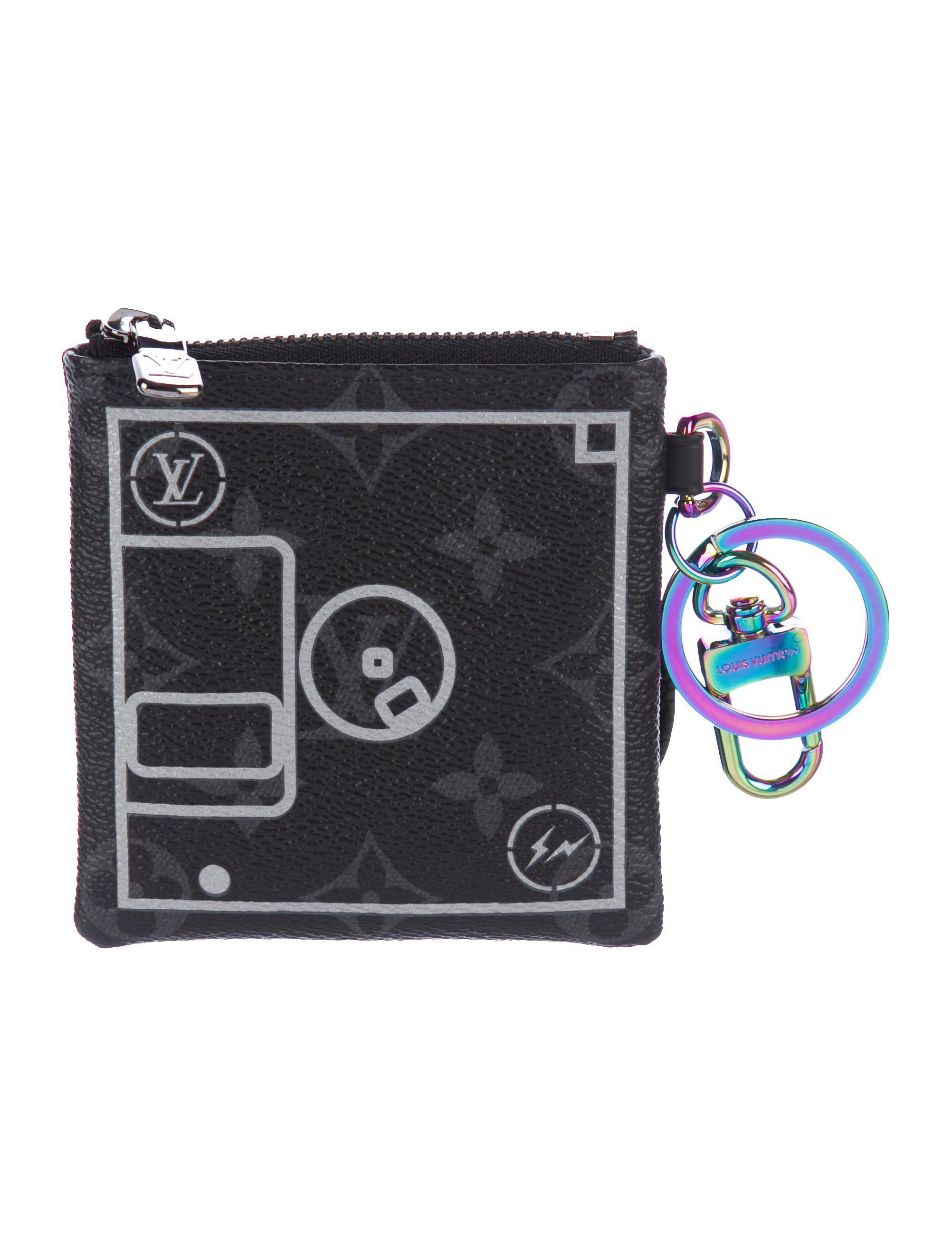 ae11d10495d1 Lyst - Louis Vuitton 2017 Fragment Design Monogram Flash Pouch Black ...