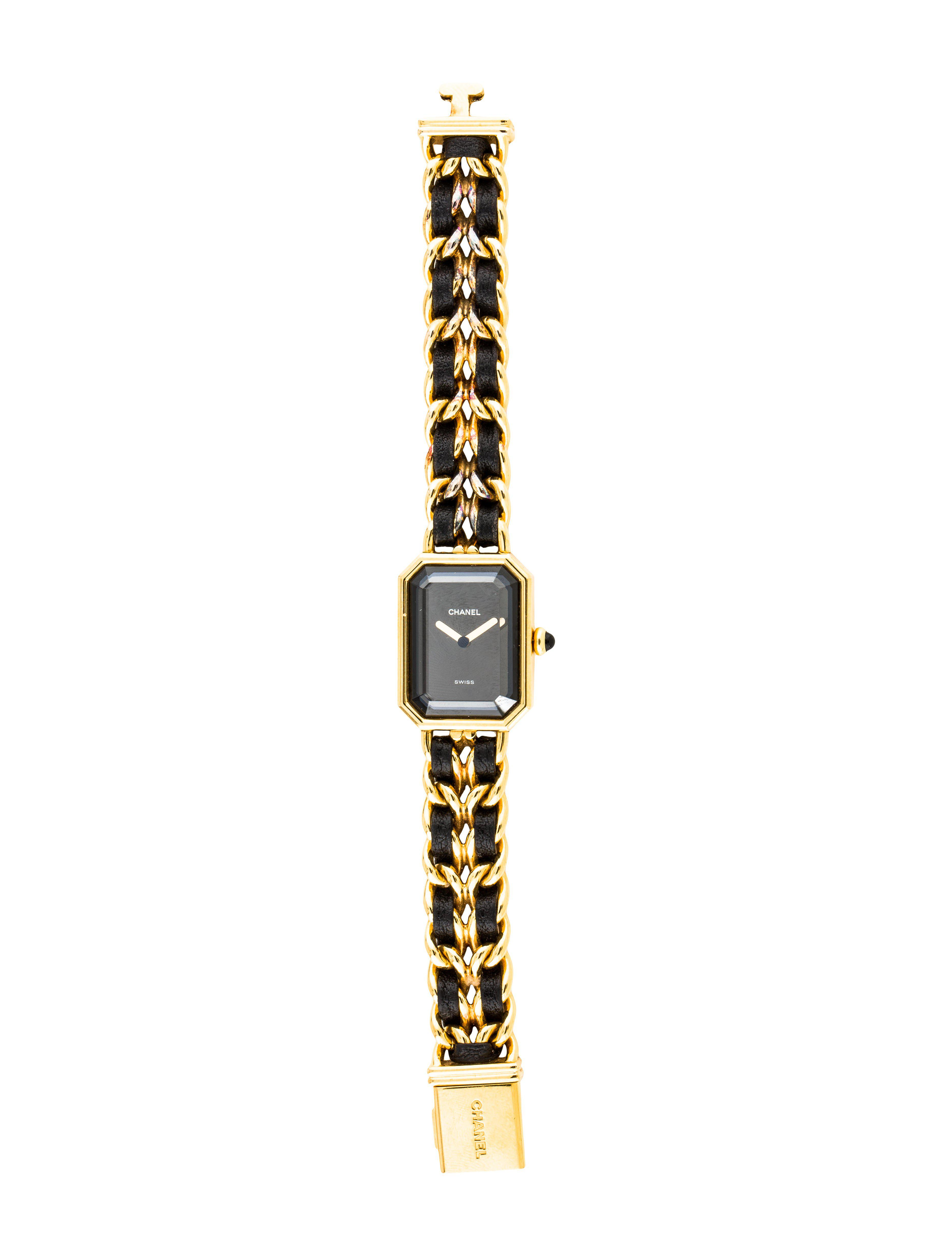 Lyst Chanel Premire Rock Watch Gold Tone In Metallic Fossil Es3954 Tailor Multifunction Light Brown Leather Gallery