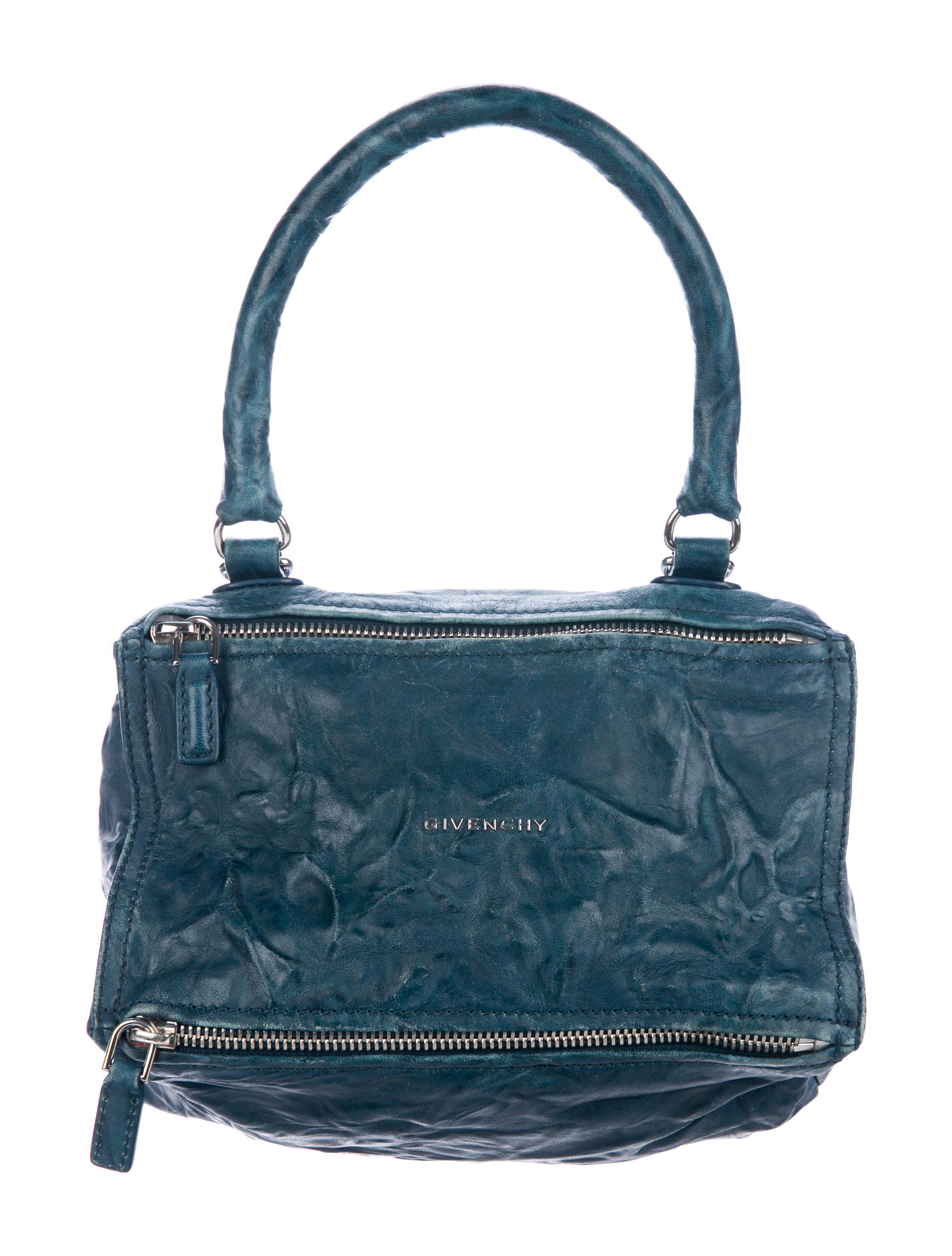 285a4f501e Lyst - Givenchy Small Pepe Pandora Bag Blue in Metallic
