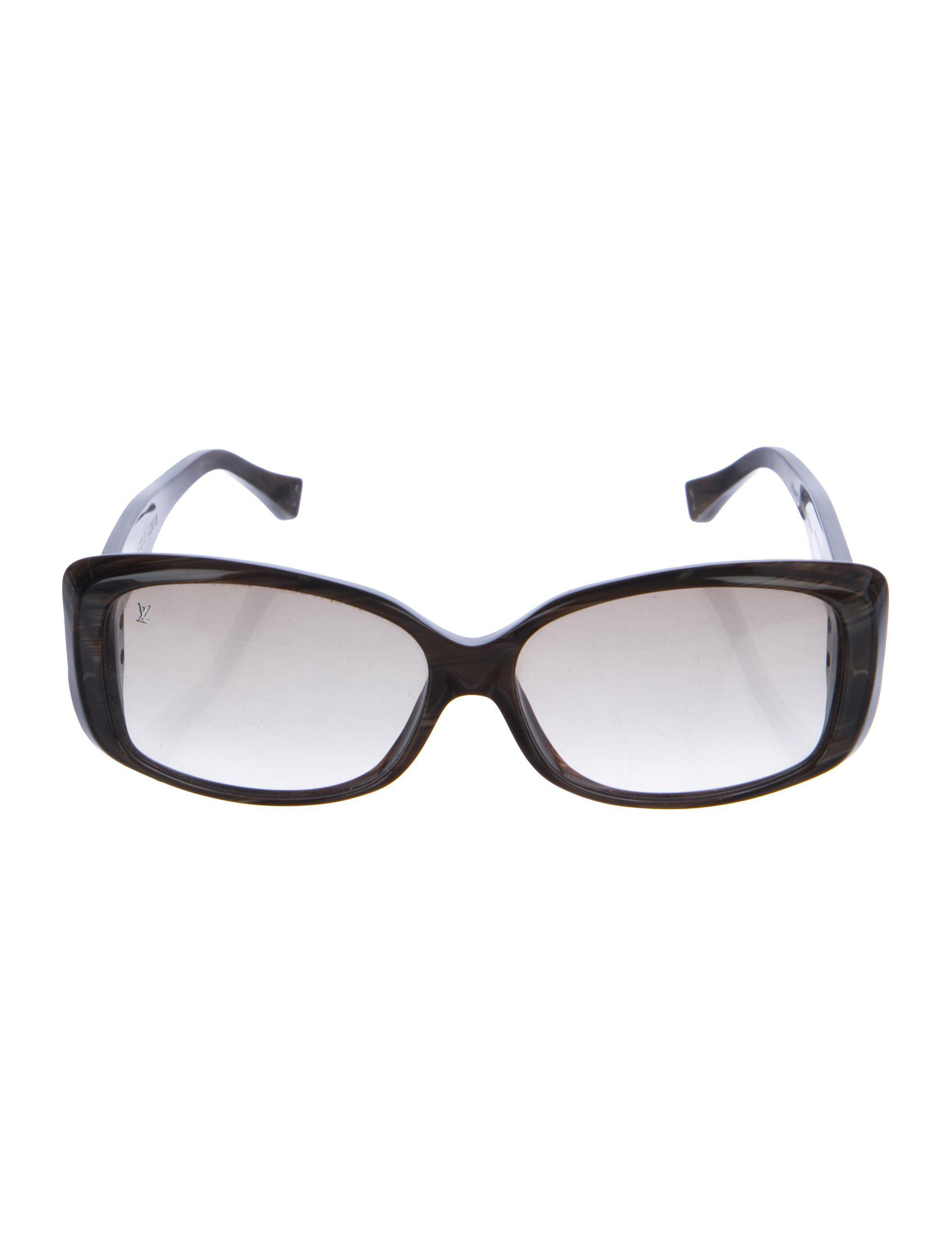 b7b27131da59 Lyst - Louis Vuitton Soupçon Gm Sunglasses Brown in Metallic