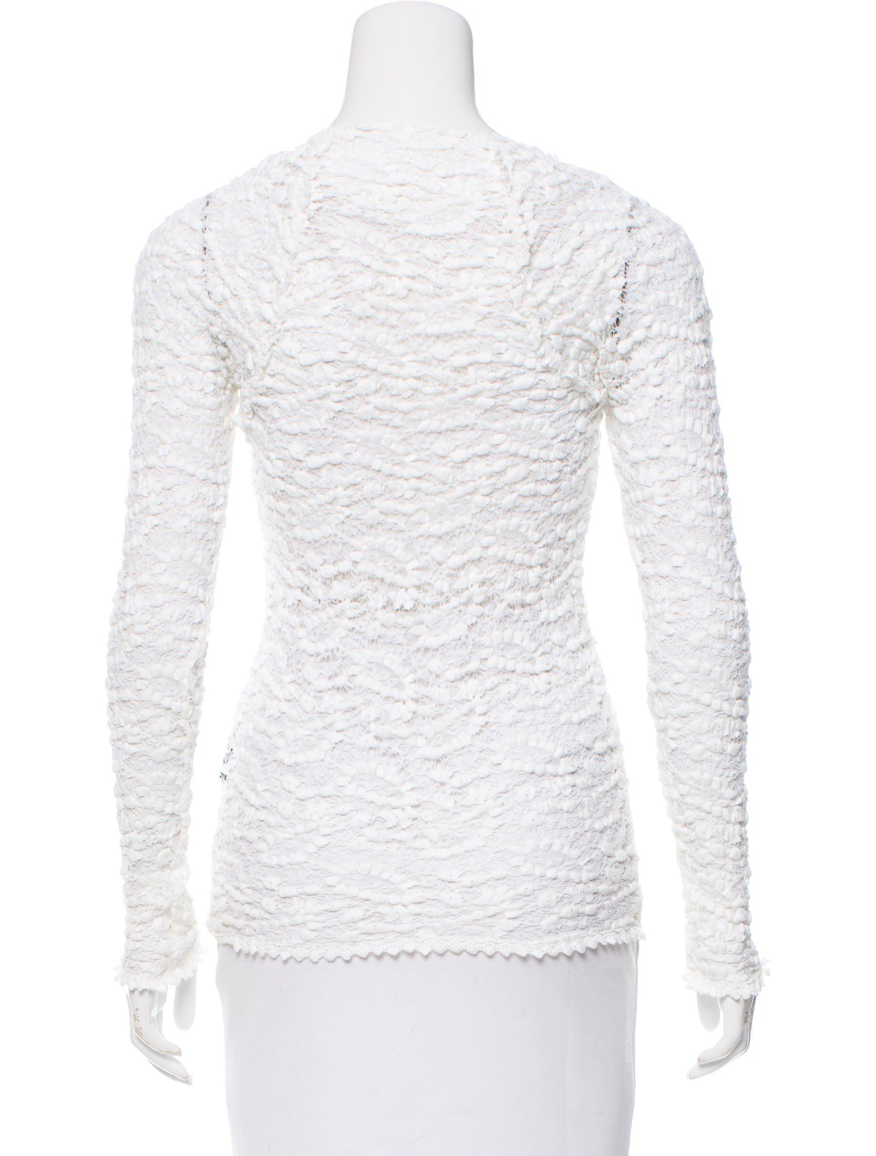 Étoile Isabel Marant Long Sleeve Knit Top Footaction Sale Online Buy Cheap Fake Cheap Sale The Cheapest Clearance Hot Sale Cheap Sale With Paypal 5yxh1g