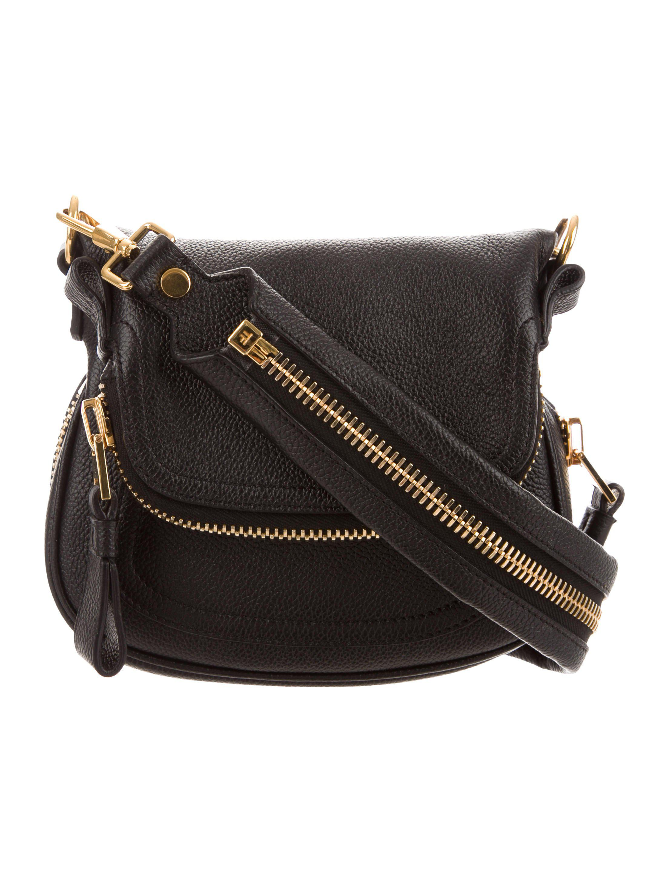 bf87bb77cc Lyst - Tom Ford Mini Jennifer Crossbody Bag Black in Metallic