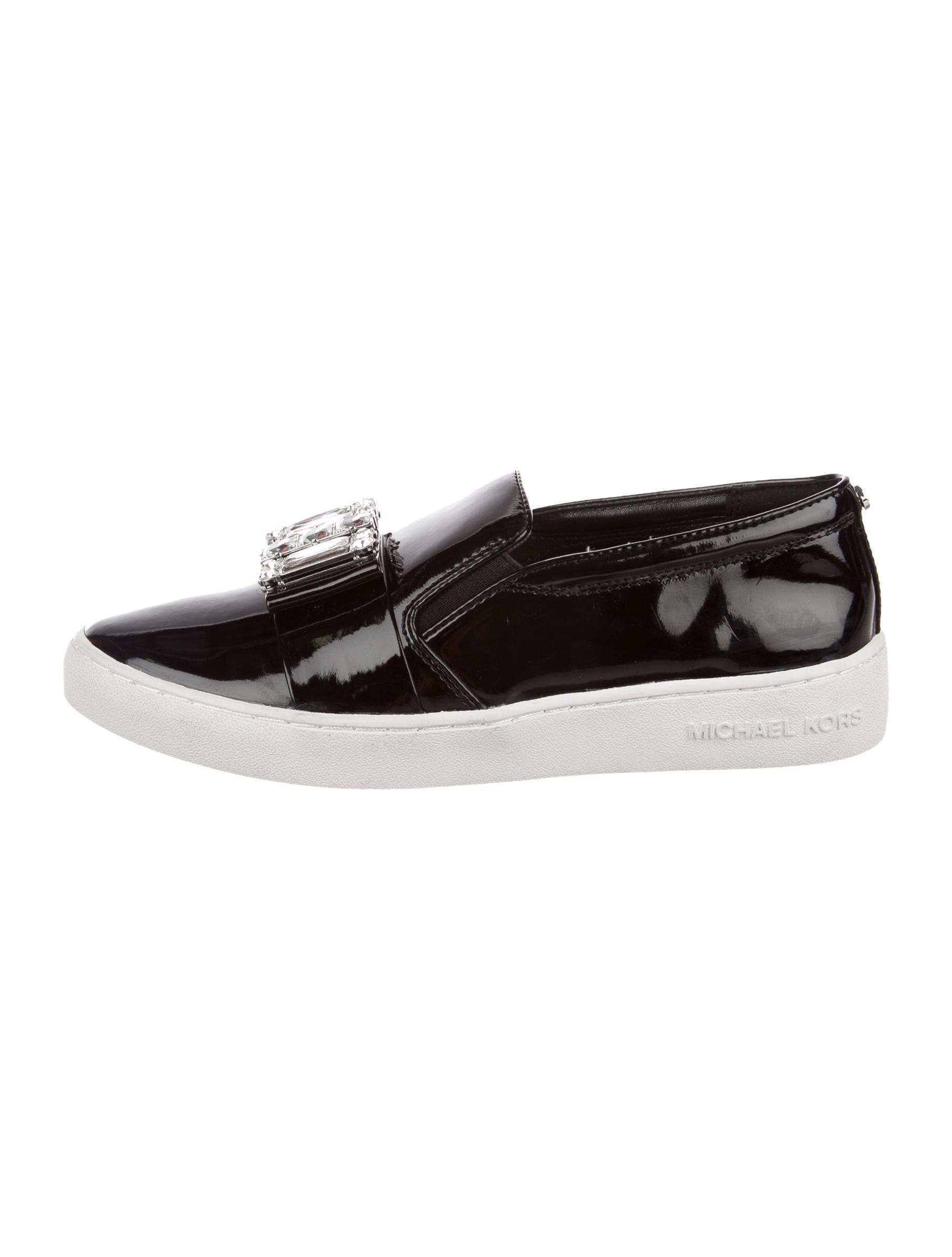 360df627b1 Lyst - Michael Michael Kors Michael Kors Michelle Slip-on Sneakers ...