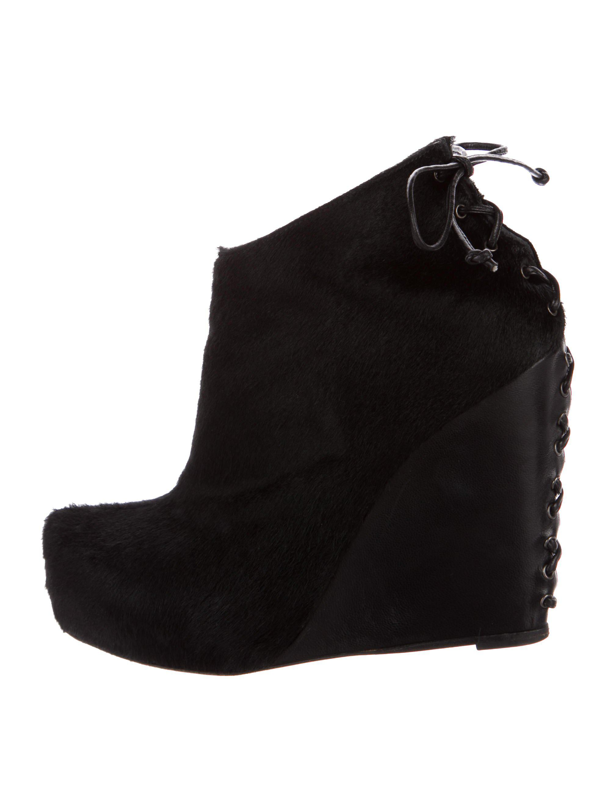 Jenni Kayne Ponyhair Wedge Booties marketable cheap online outlet many kinds of n5TnQ501