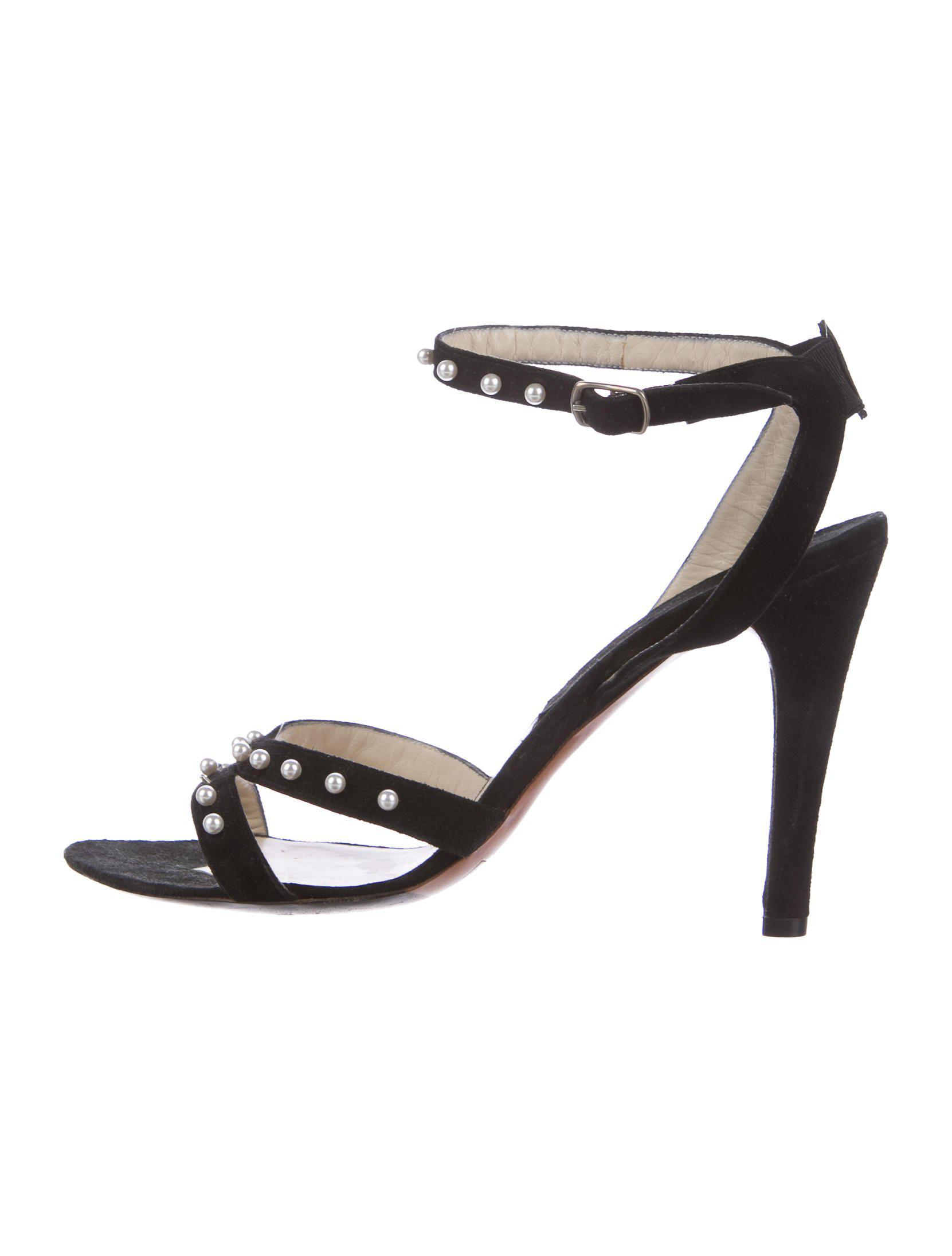Marc Jacobs Leather Ankle-Strap Sandals buy cheap from china where to buy low price classic rFyckC