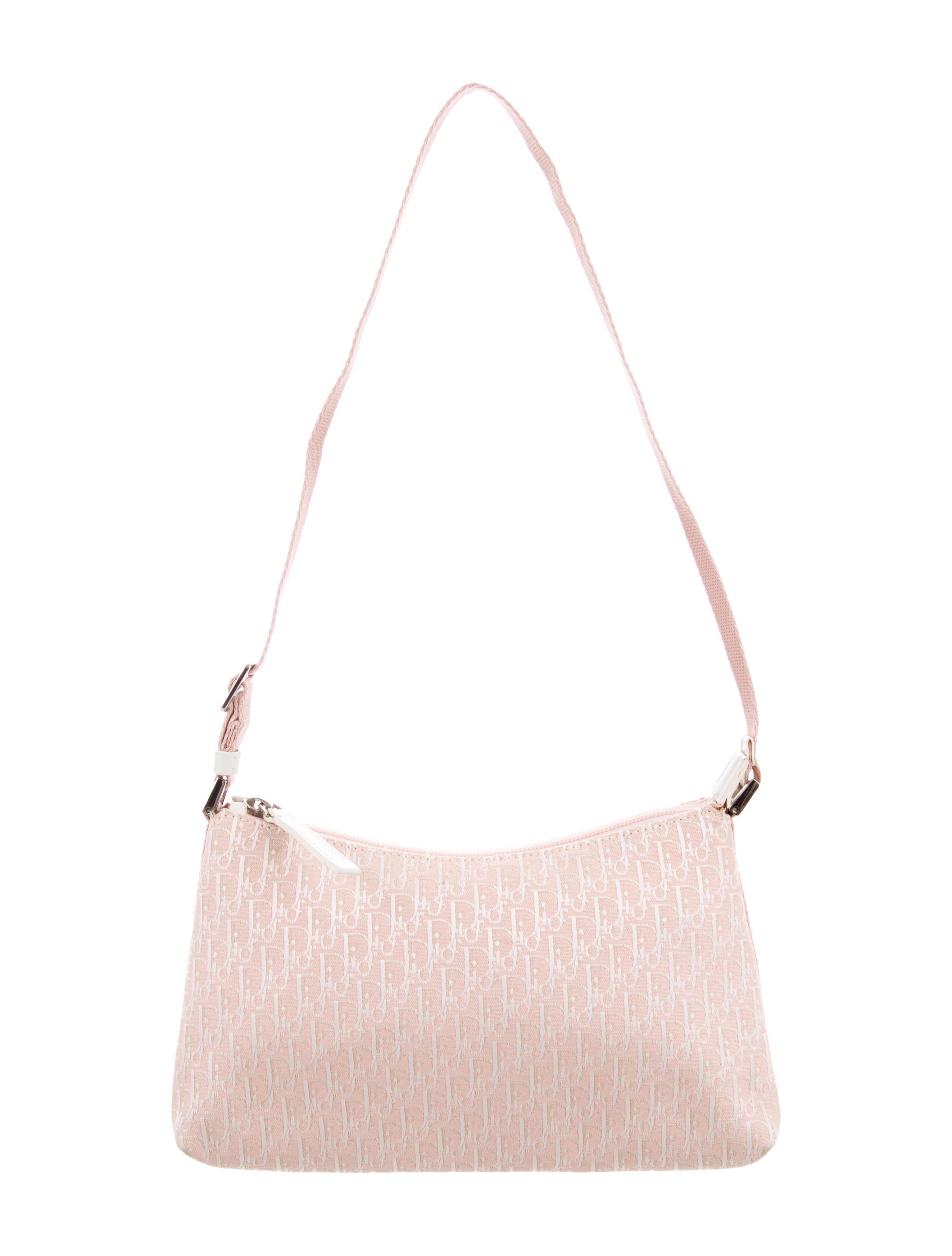 Lyst - Dior Diorissimo Shoulder Bag Pink in Metallic 36778a38f86c6